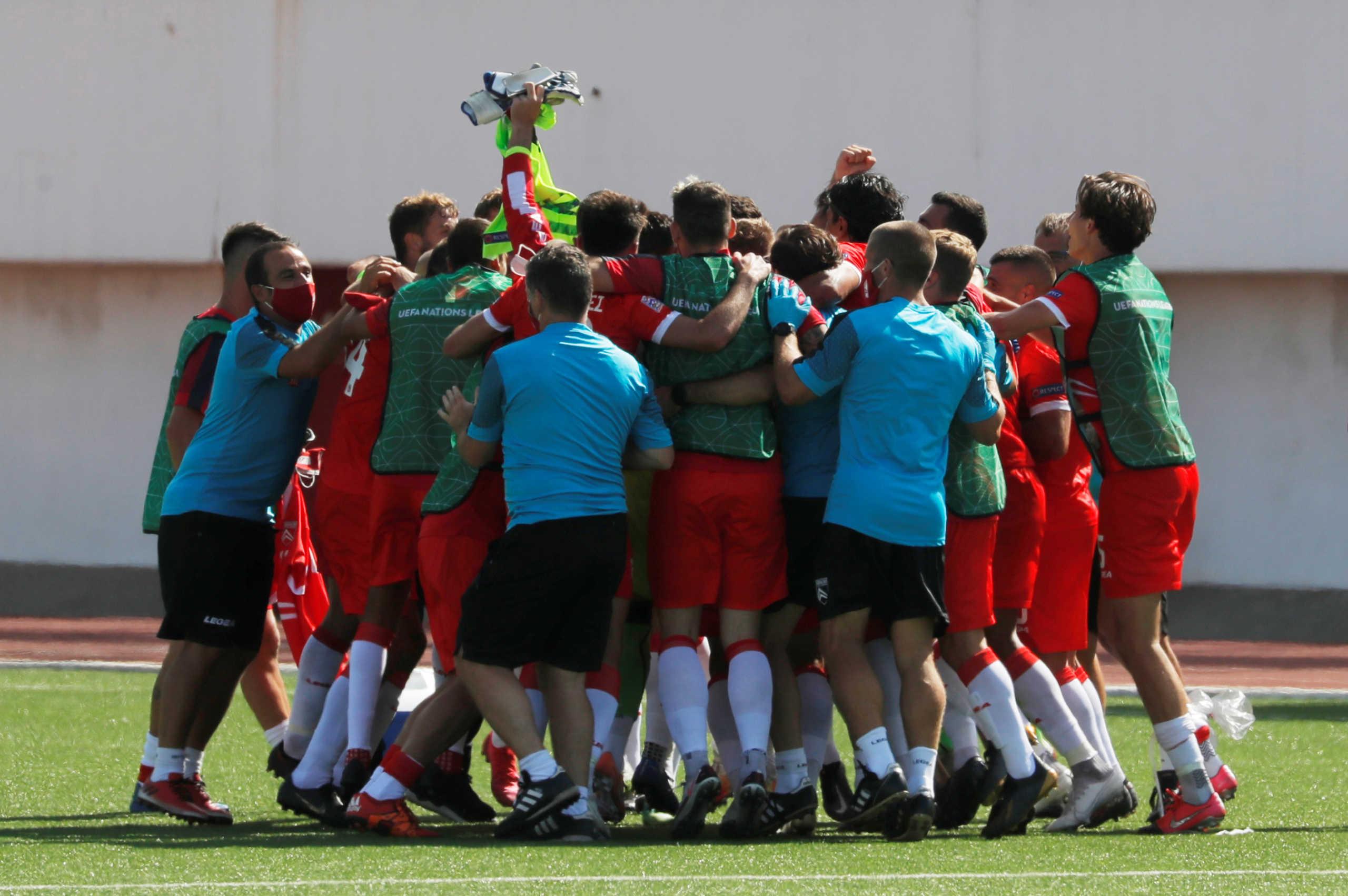 Nations League: Νίκη μετά από δύο χρόνια για το Γιβραλτάρ!
