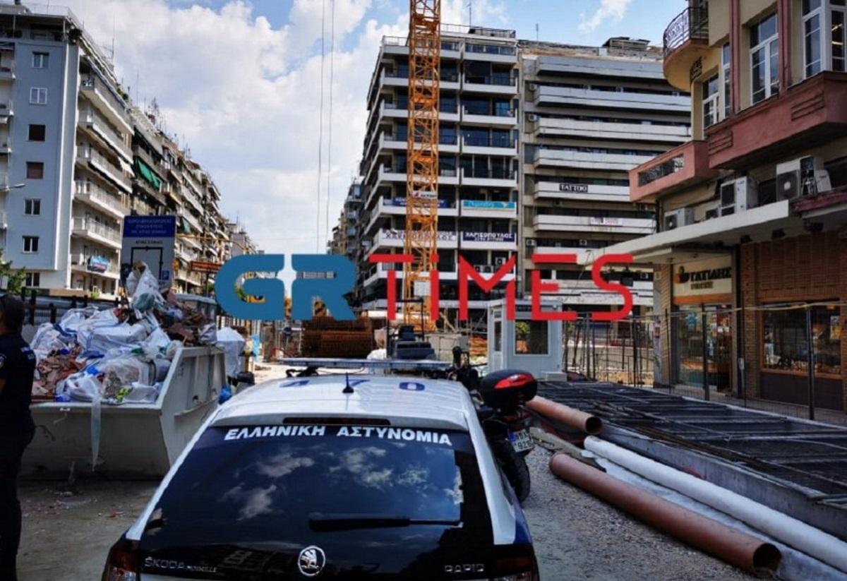 Εδώ σκοτώθηκε ο εργάτης στο μετρό Θεσσαλονίκης (video)
