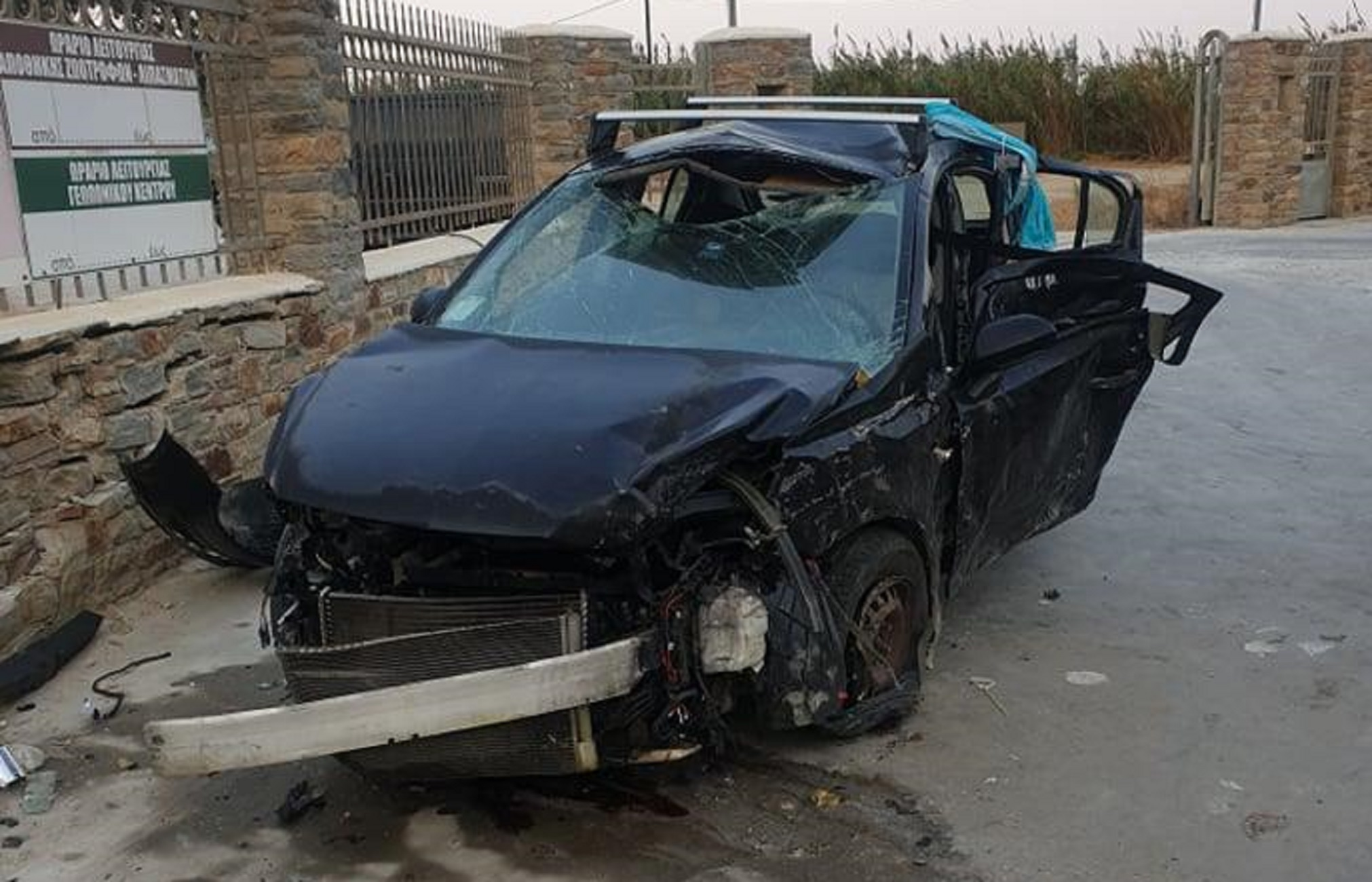 NAXOS TROXAIO 2 1 - Οικογενειακή τραγωδία σε θανατηφόρο τροχαίο – Νεκρή η μητέρα