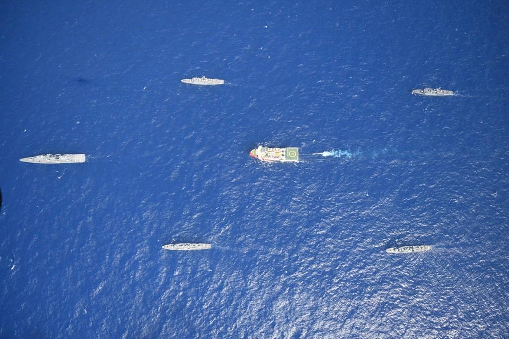 Oruc Reis: Στα 9 ναυτικά μίλια από το Καστελόριζο το τουρκικό ερευνητικό