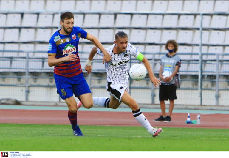 Βόλος - ΠΑΟΚ 0-0 ΤΕΛΙΚΟ: Έχασε ευκαιρίες και βαθμούς στο Πανθεσσαλικό