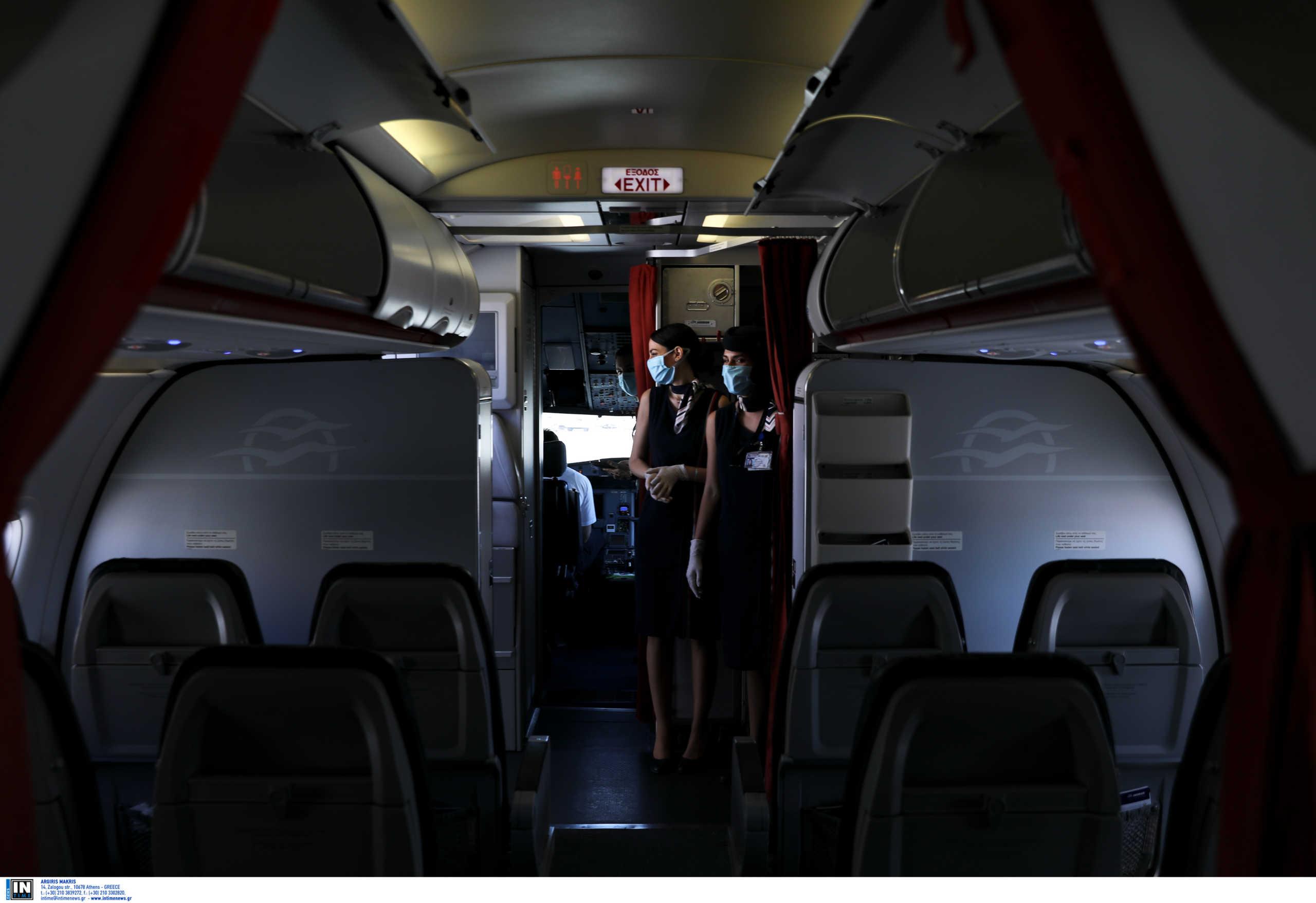Κρήτη: Χαμός σε αεροπλάνο από Αθήνα για Ηράκλειο! Φωνές στους πιλότους και λιποθυμία γυναίκας