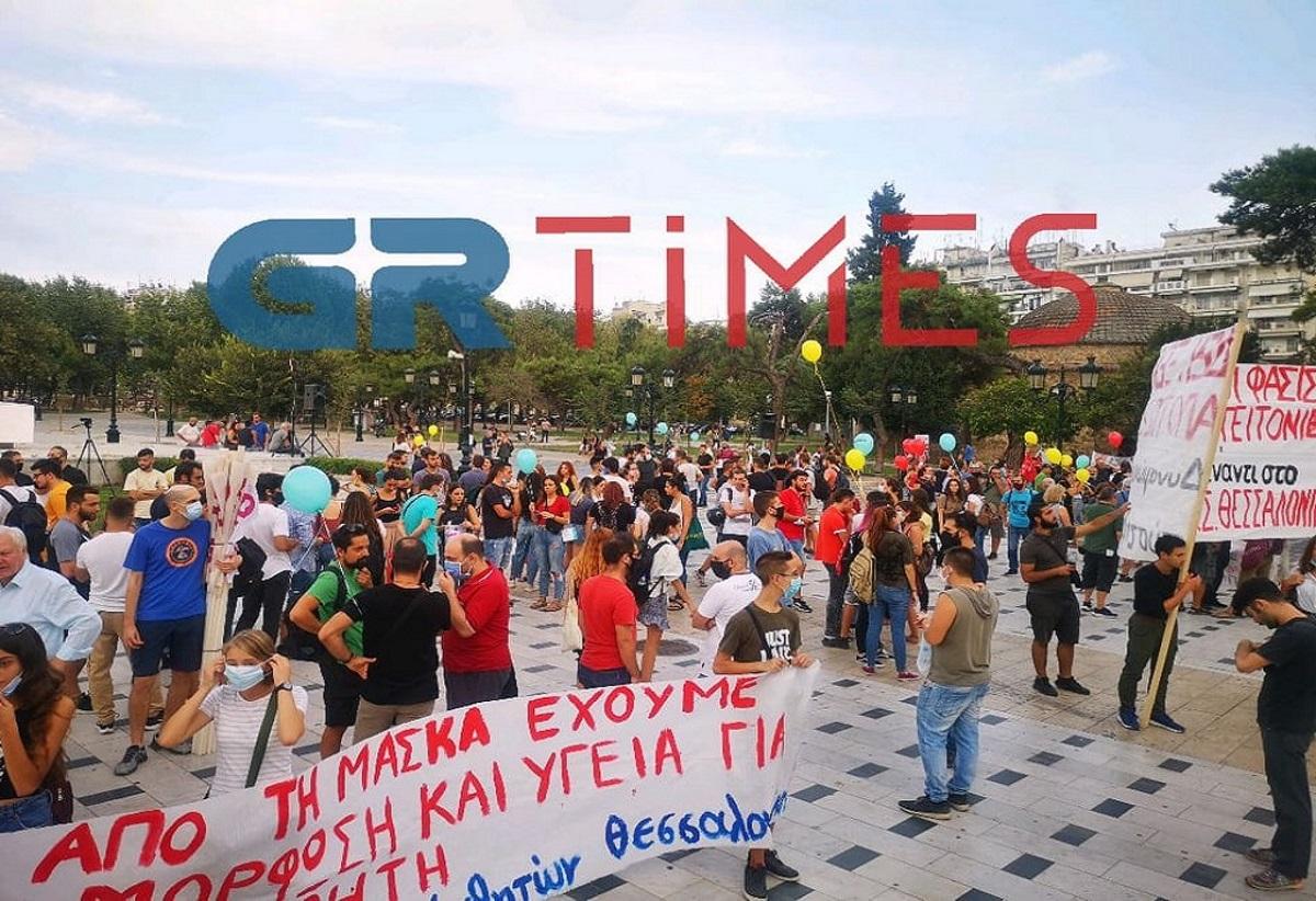 Πανεκπαιδευτικό συλλαλητήριο στη Θεσσαλονίκη (video)