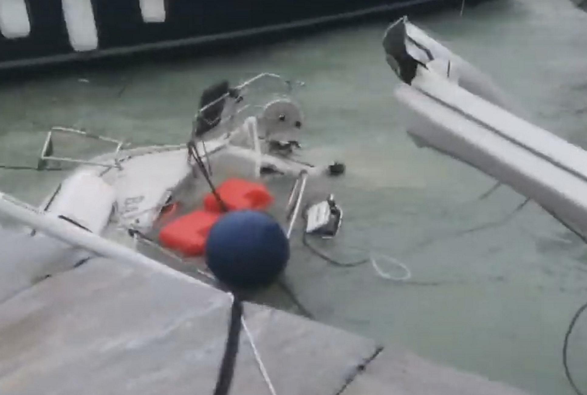 Ζάκυνθος – Ιανός: Βούλιαξε ιστιοφόρο και ξηλώθηκαν στέγες σπιτιών! Η δύναμη του κυκλώνα στην κάμερα (Βίντεο)