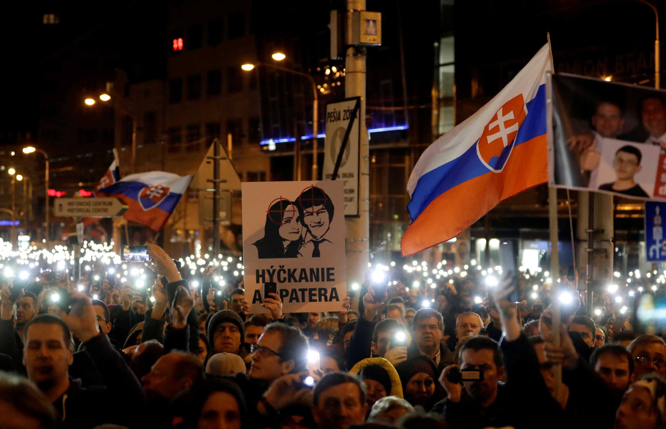 Σλοβακία: Καταδίκη για τη δολοφονία του ρεπόρτερ Κούτσιακ και της συντρόφου του (pics)