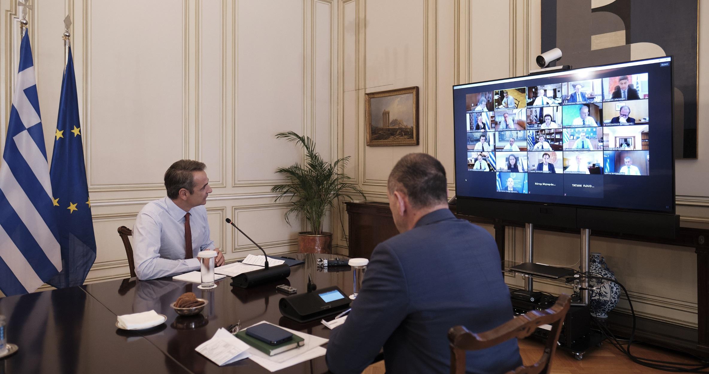 Υπουργικό Συμβούλιο: Συνεδριάζει αύριο μέσω τηλεδιάσκεψης – 5 νομοσχέδια στην ατζέντα