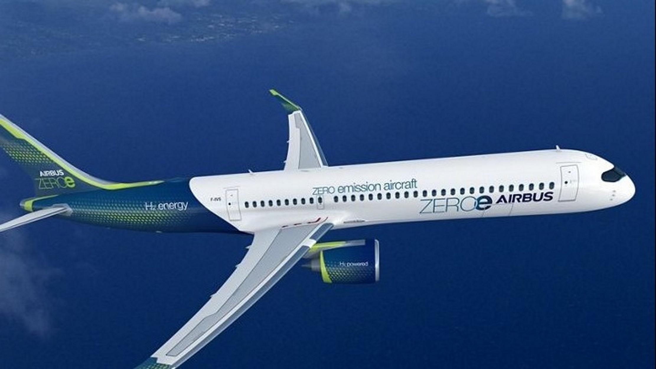 """Airbus: Το 2035 το πρώτο """"καθαρό"""" επιβατηγό αεροπλάνο"""