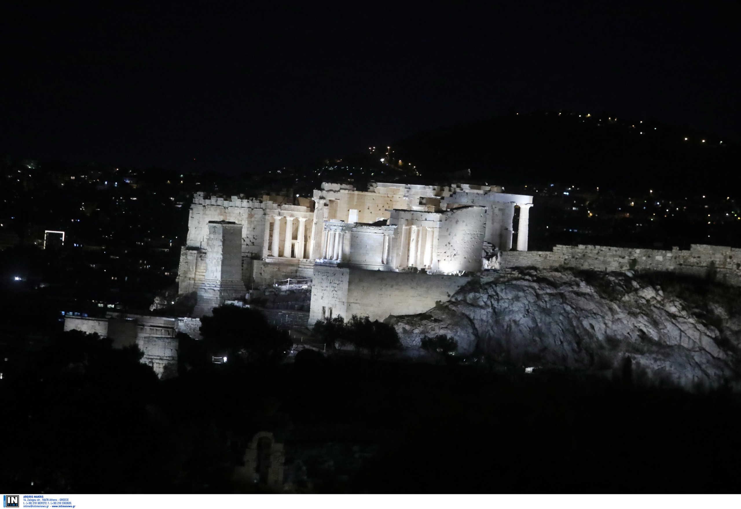 Η Ακρόπολη… άλλαξε! Άκρως εντυπωσιακός ο νέος φωτισμός της (pics)
