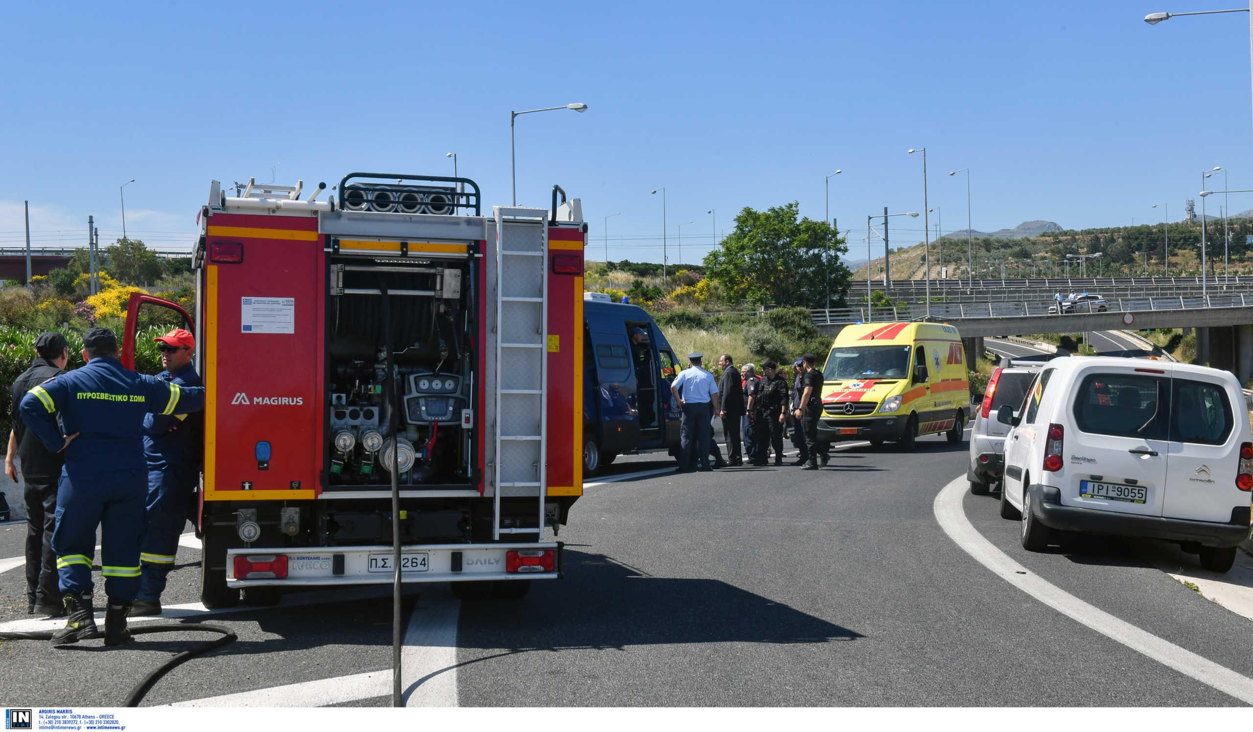 Τροχαίο στην Αθηνών – Κορίνθου με δυο τραυματίες – Μποτιλιάρισμα στον Ασπρόπυργο