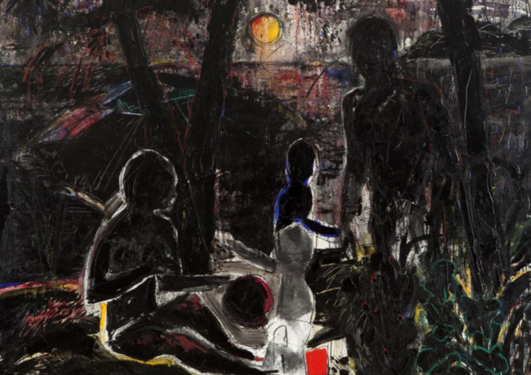 Λιβανέζος καλλιτέχνης ζωγραφίζει δέντρα για να βοηθήσει στην ανοικοδόμηση κατοικιών στη Βηρυτό