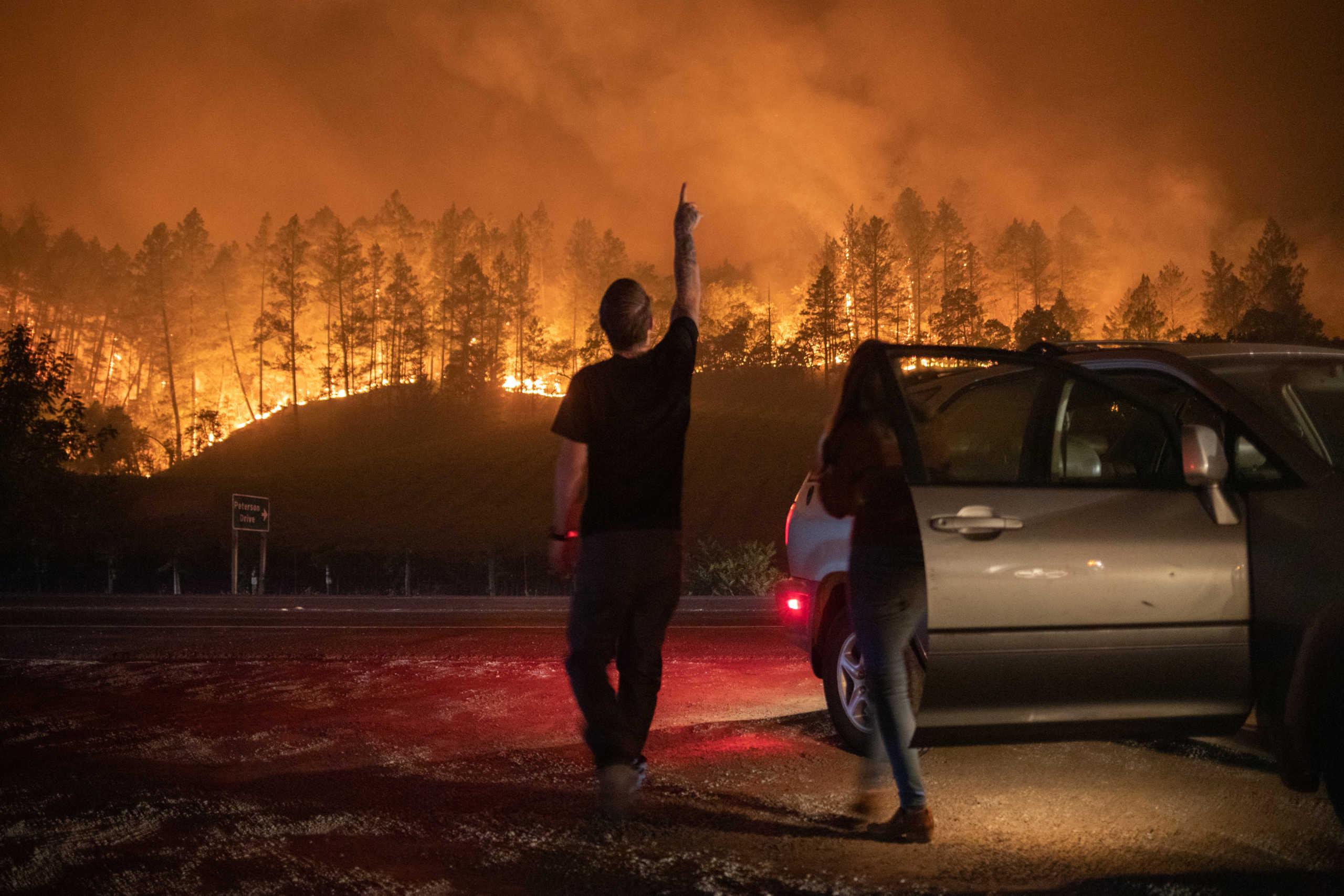 Νεκροί και απίστευτες καταστροφές στους αμπελώνες της Νάπα από τις μεγάλες φωτιές στην Καλιφόρνια