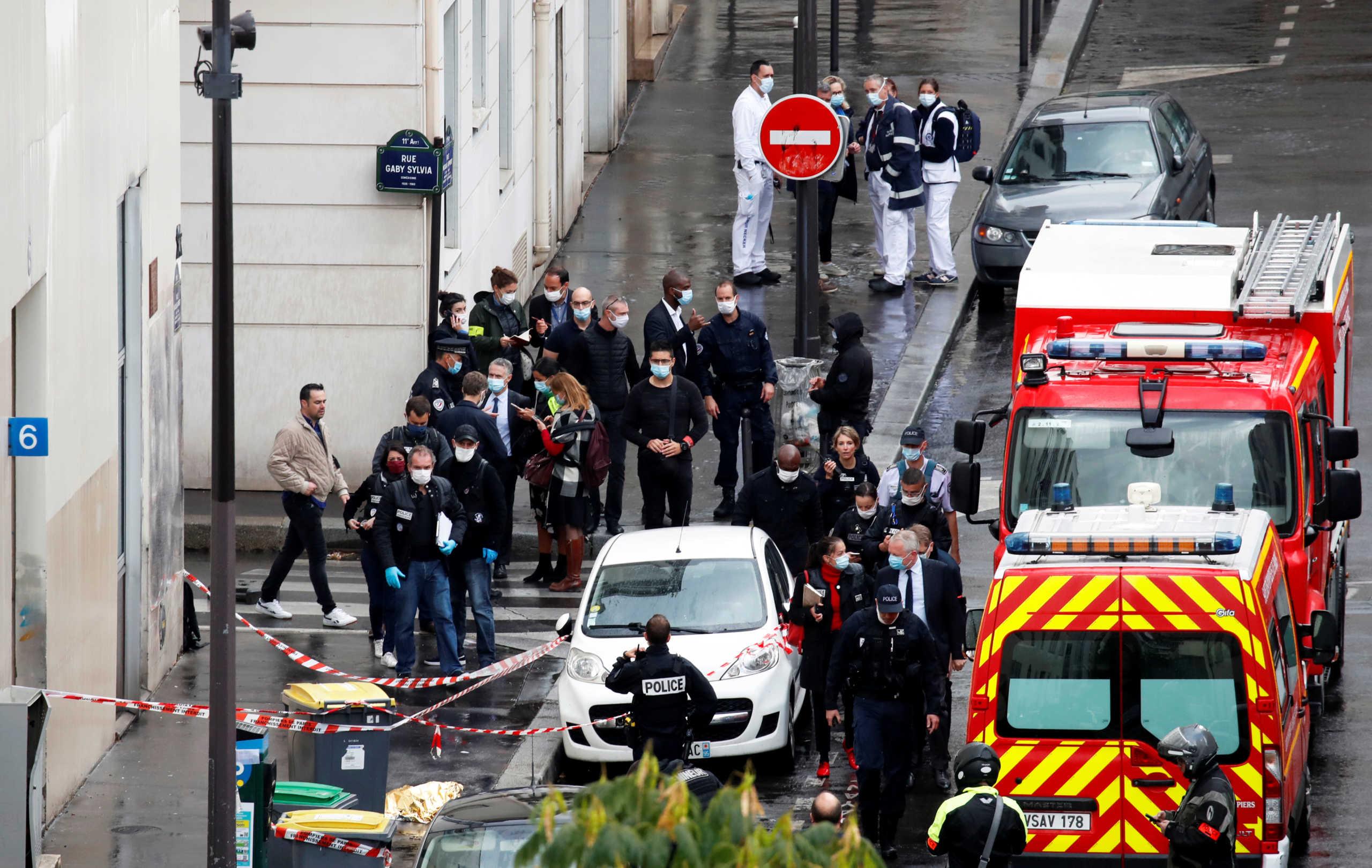 Ο δράστης της επίθεσης στα παλιά γραφεία του Charlie Hebdo αποκάλυψε την πραγματική του ταυτότητα