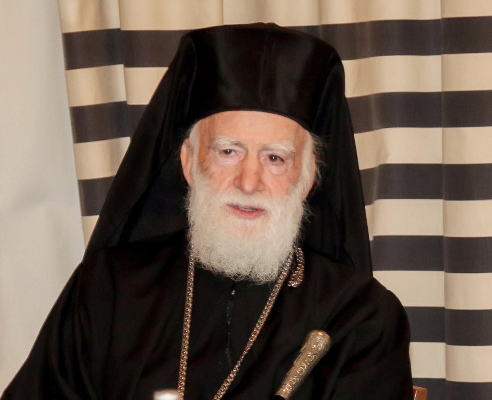 Ηράκλειο: Σήκωσε πυρετό και παραμένει στην εντατική ο Αρχιεπίσκοπος Κρήτης Ειρηναίος!