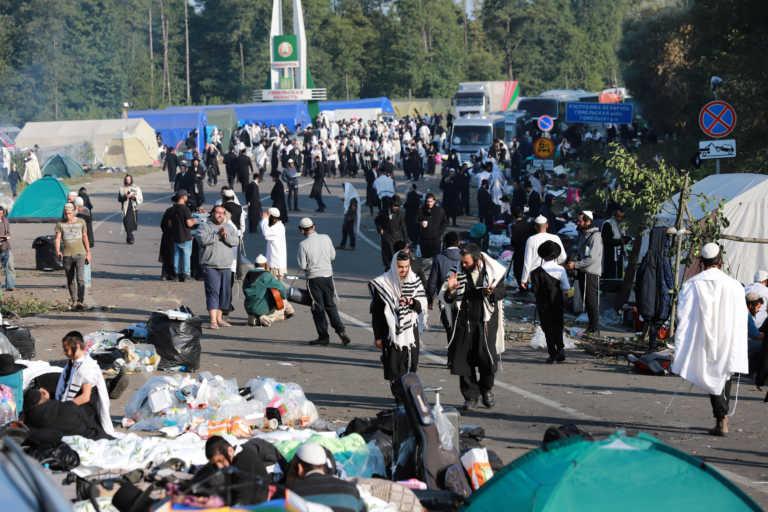 Ουκρανία:  Φεύγουν από τα σύνορα με τη Λευκορωσία εκατοντάδες Εβραίοι προσκυνητές