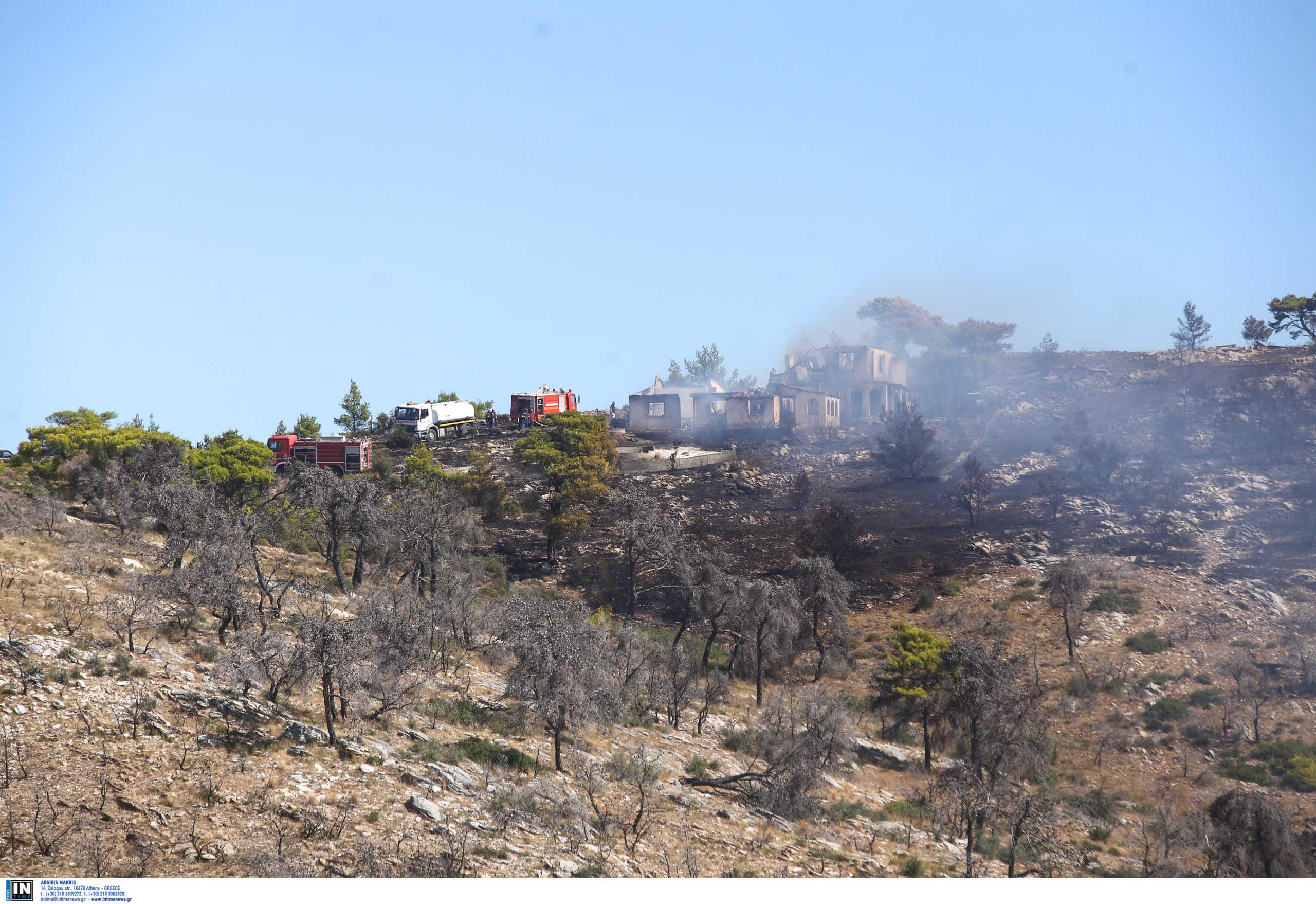 Υπό έλεγχο η μεγάλη φωτιά ανάμεσα σε Ραφήνα και Αρτέμιδα – Εκκενώθηκαν οικισμοί