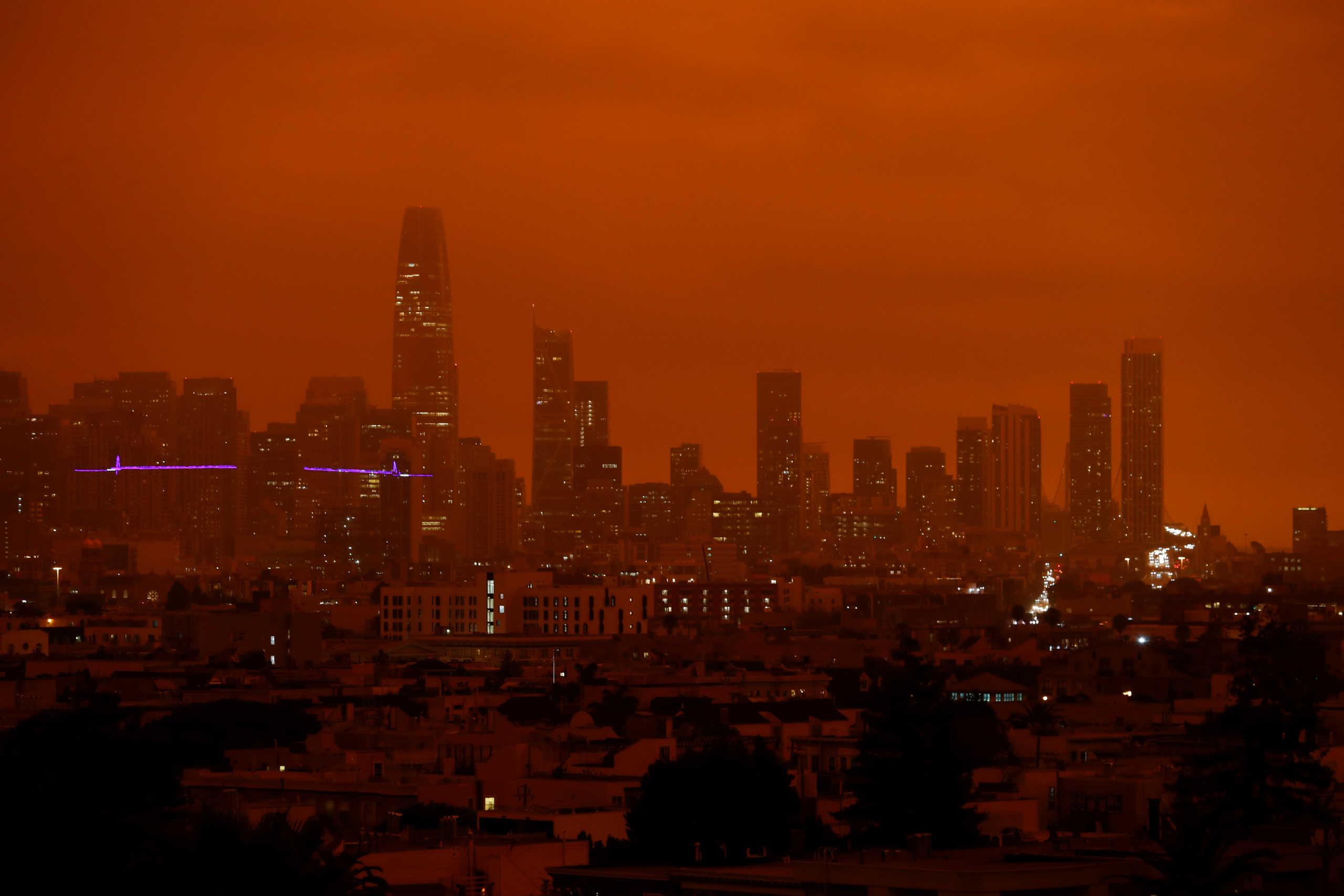 Η κόλαση του Δάντη σε Καλιφόρνια και Όρεγκον! Μωράκι 1 έτους ανάμεσα στους νεκρούς από τις τεράστιες φωτιές (pics, video)