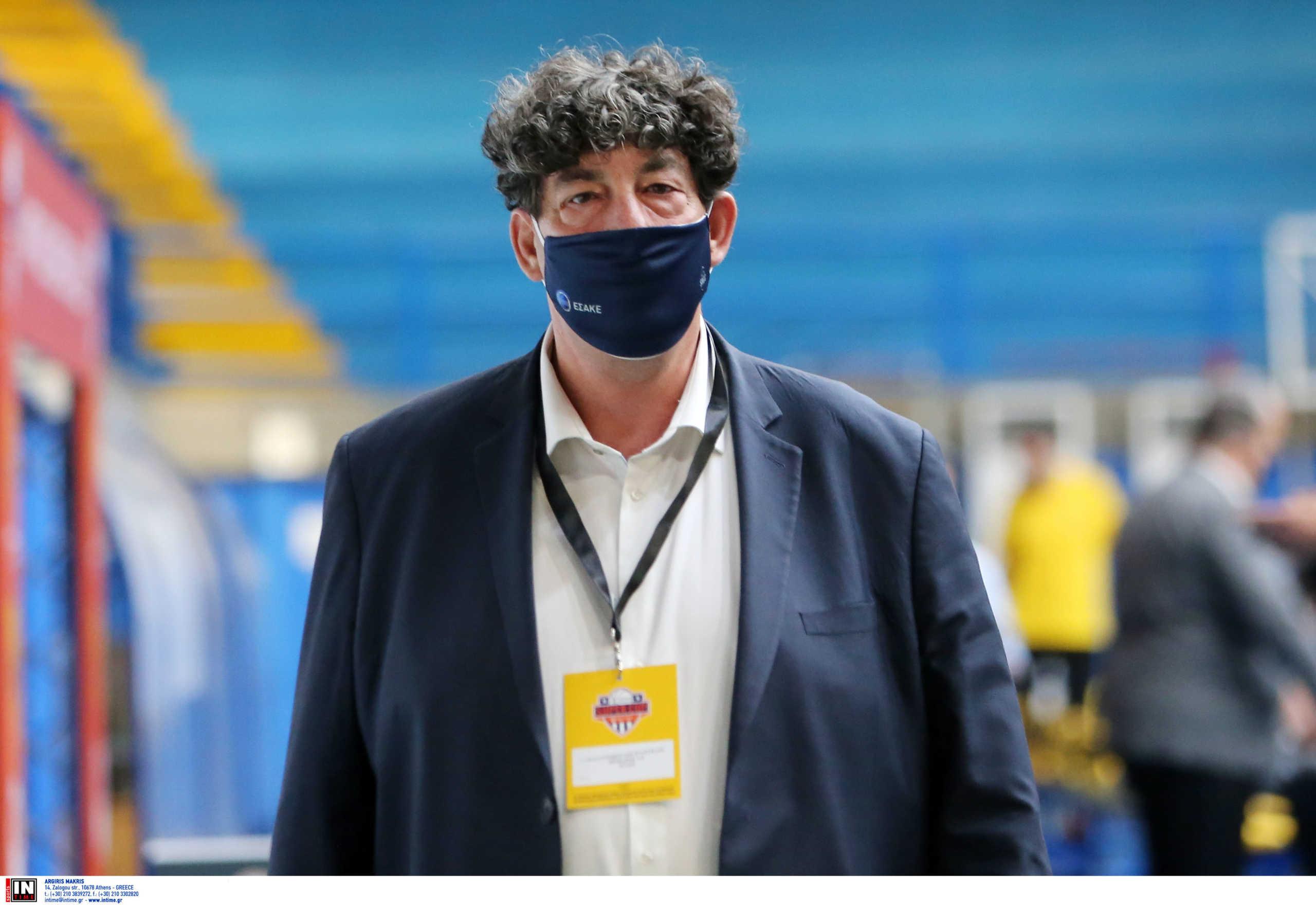 """Γαλατσόπουλος: """"Πιστεύουμε ότι ο Ολυμπιακός θα είναι μαζί μας την επόμενη σεζόν"""""""