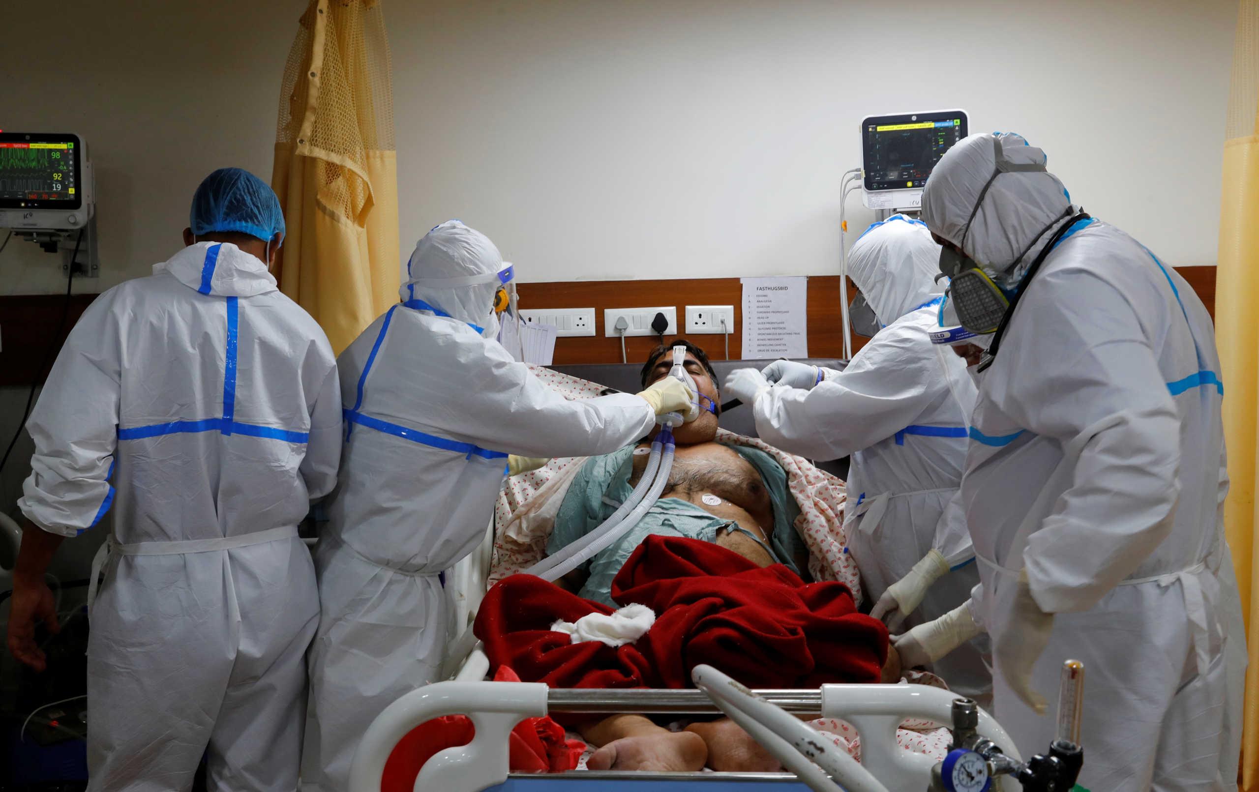 Ινδία: Ακόμα 45.148 κρούσματα κορονοϊού και 480 θάνατοι