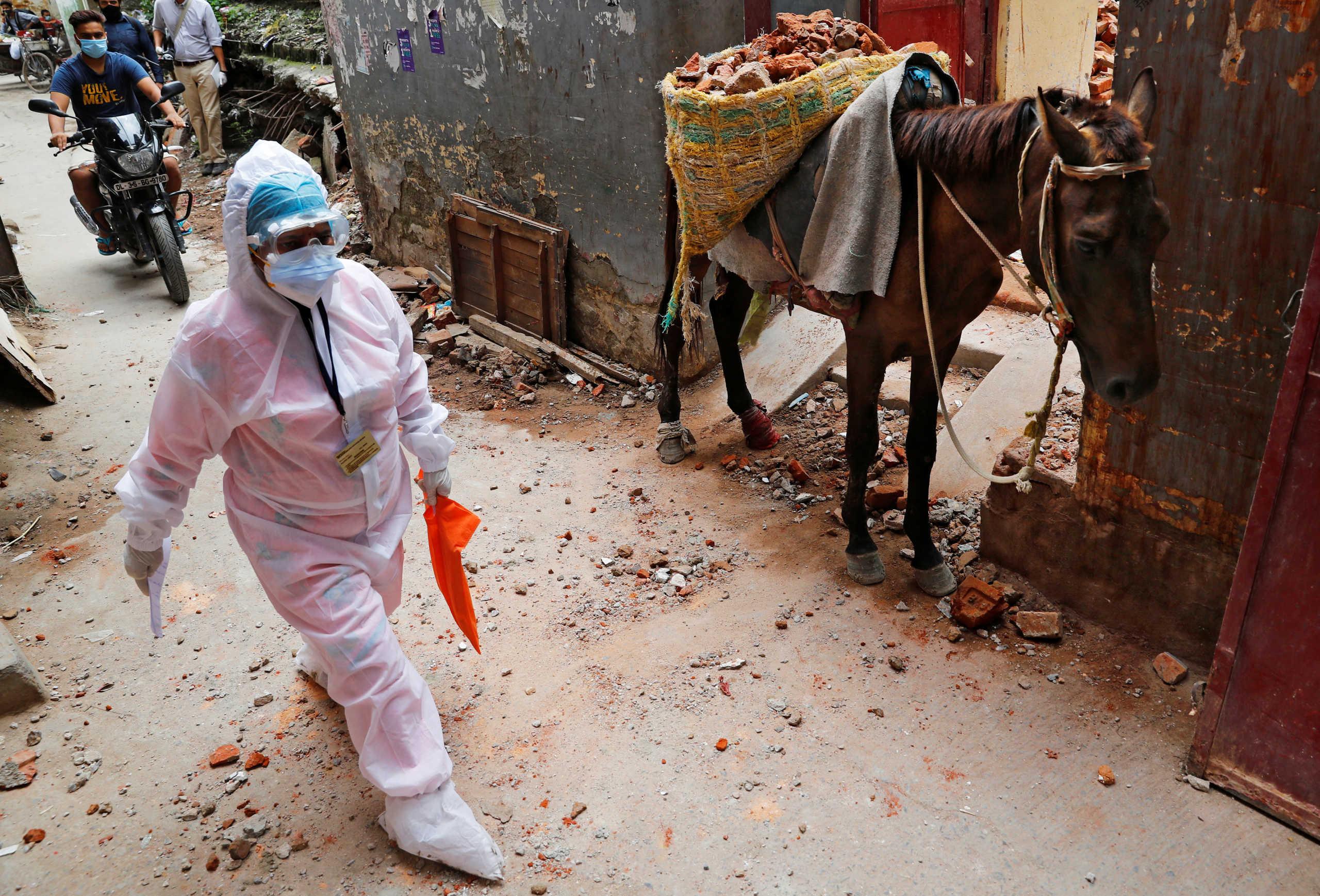 Ινδία: Ασύλληπτοι αριθμοί! 96.551 κρούσματα κορονοϊού σε μία μέρα