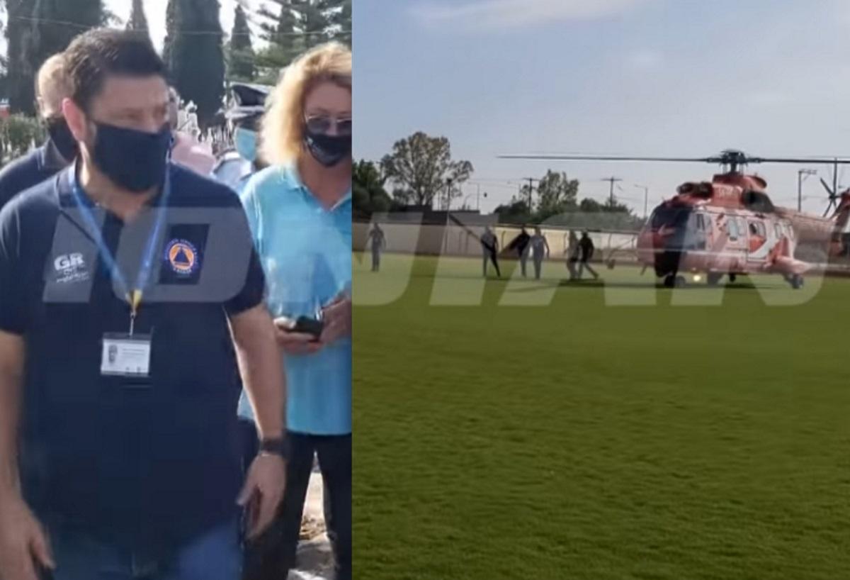 Ιανός: Η αυτοψία του Χαρδαλιά που έφτασε με ελικόπτερο στη Ζάκυνθο – Οδοιπορικό στην πληγωμένη Κεφαλονιά (video)