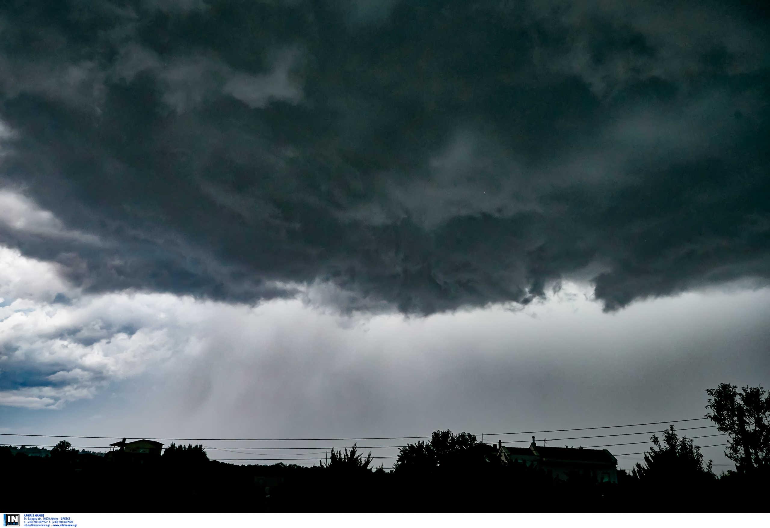 Καιρός σήμερα: Βροχές και ισχυρές καταιγίδες – Που θα χτυπήσει η κακοκαιρία