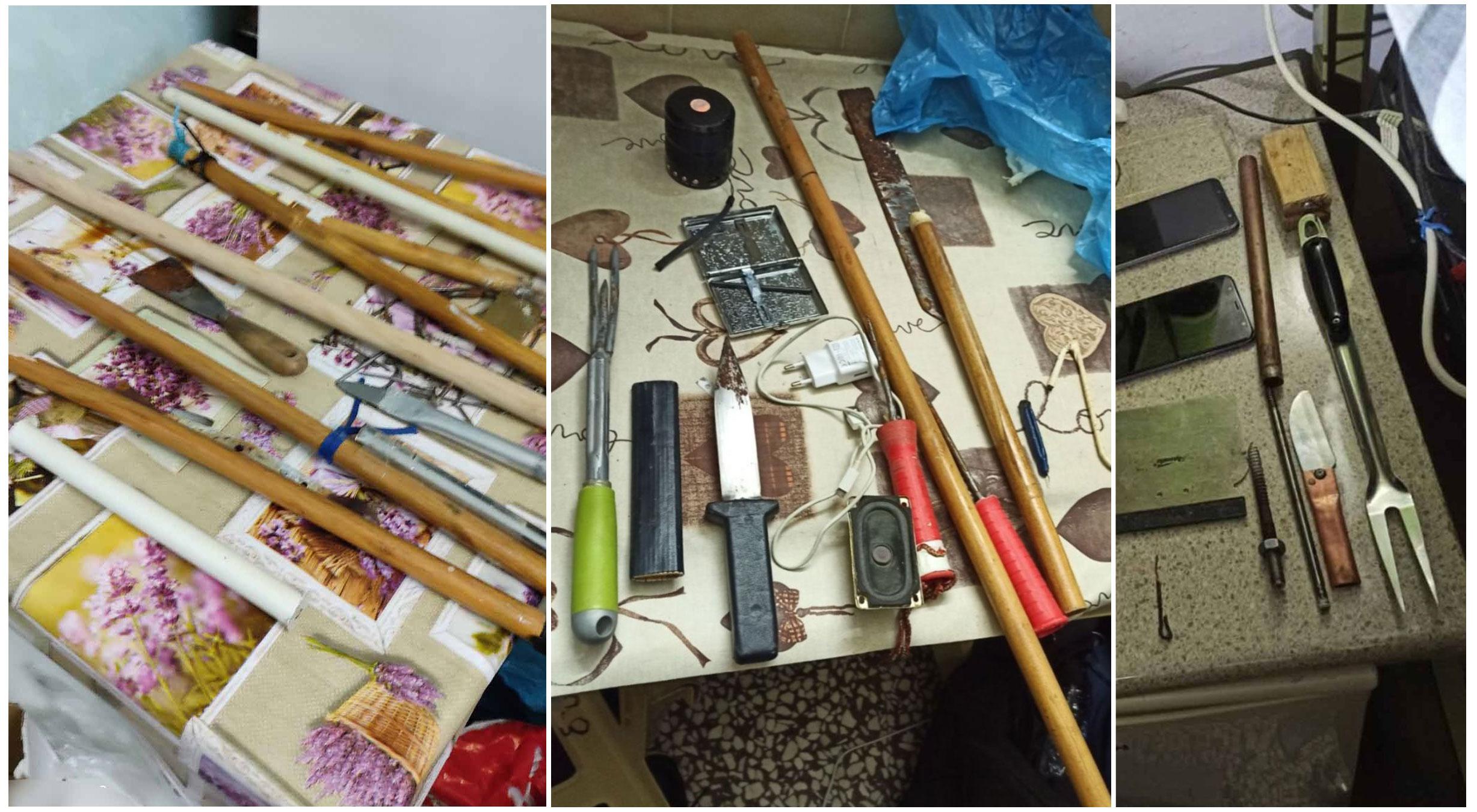 Νέα έρευνα σε κελιά βαρυποινιτών στον Κορυδαλλό – Βρέθηκαν από σουβλιά μέχρι πιρούνα