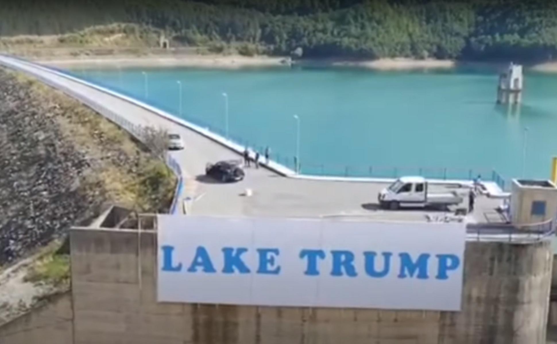 Κόσοβο: Μια λίμνη που την λένε Τραμπ! Της άλλαξαν όνομα προς τιμή του Αμερικανού προέδρου