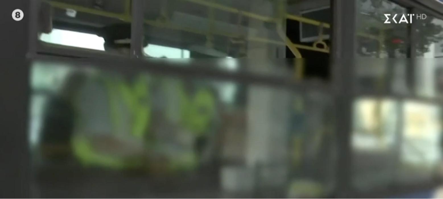 Τον έβγαλαν σηκωτό από το λεωφορείο στη Συγγρού γιατί δεν φορούσε μάσκα! (video)