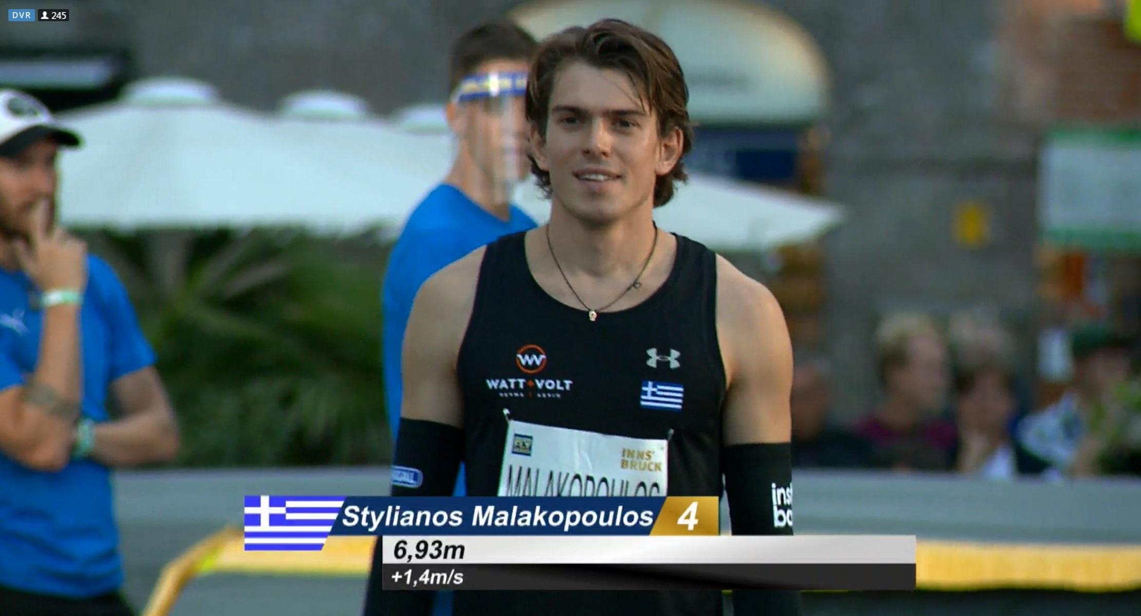 Golden Roof Challenge 2020: Παγκόσμιο ρεκόρ ο Μαλακόπουλος στο μήκος