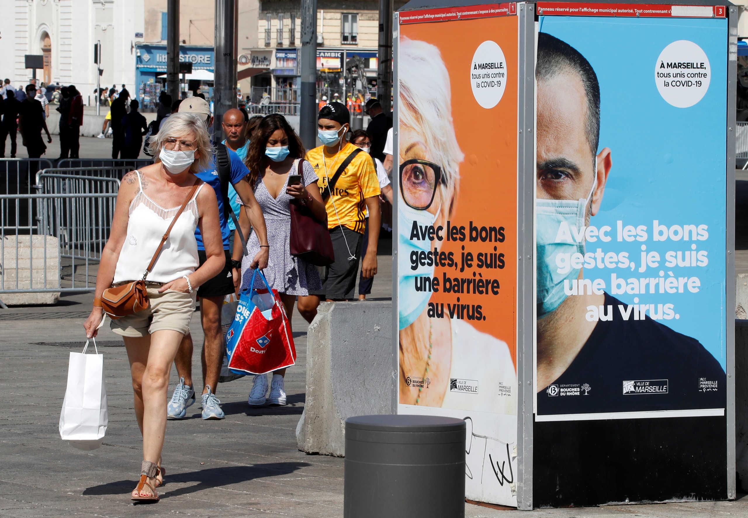 Κορονοϊός: Οργή των δημοτικών αρχών στη Μασσαλία για τα μέτρα – Κλείνουν μπαρ και εστιατόρια