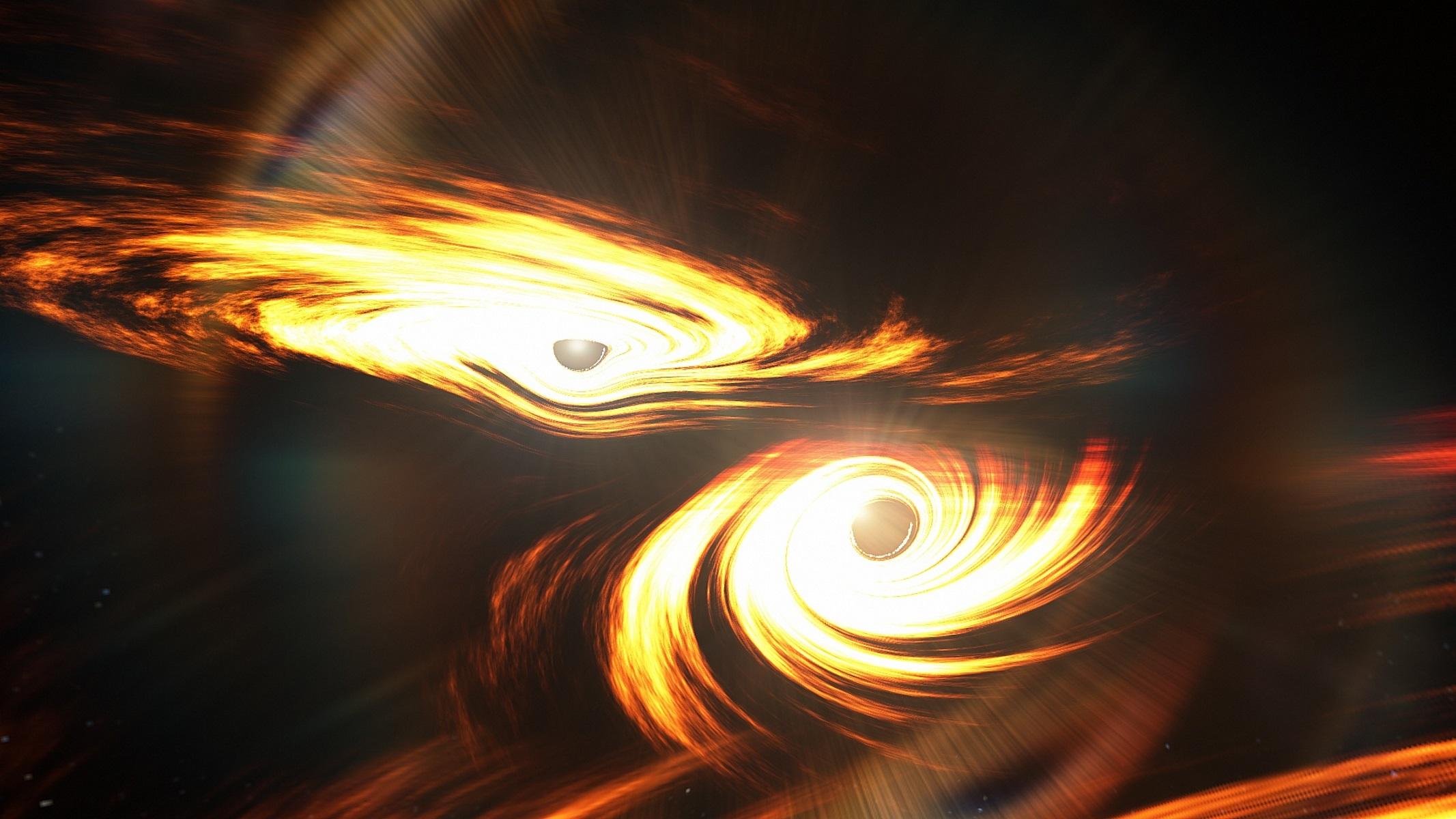 Ανακαλύφθηκε η πιο μεγάλη και μακρινή συγχώνευση δύο μαύρων τρυπών
