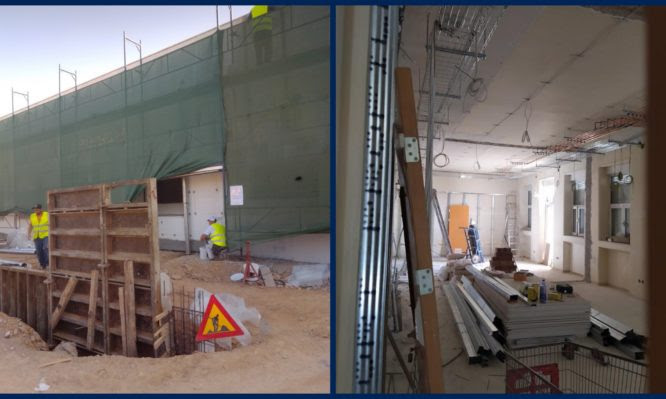 """Αυτές είναι οι νέες ΜΕΘ που κατασκευάζονται από δωρεές στο """"Σωτηρία"""" και το νοσοκομείο της Νίκαιας (pics)"""
