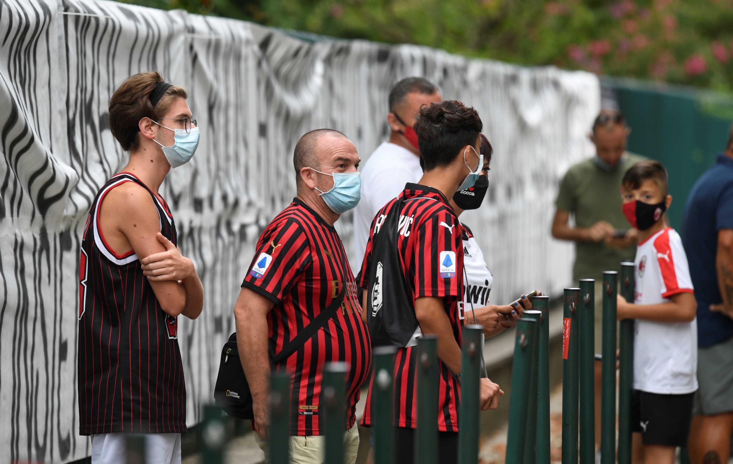 Κορονοϊός: Ντέρμπι με οπαδούς στο Μιλάνο τον Οκτώβριο!