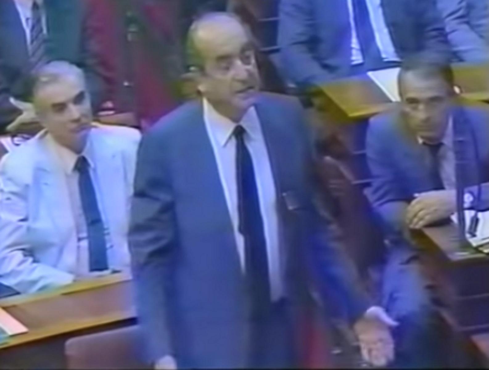 Δολοφονία Παύλου Μπακογιάννη: Όταν ο Κωνσταντίνος Μητσοτάκης συγκλόνισε στη Βουλή με την ομιλία του (video)