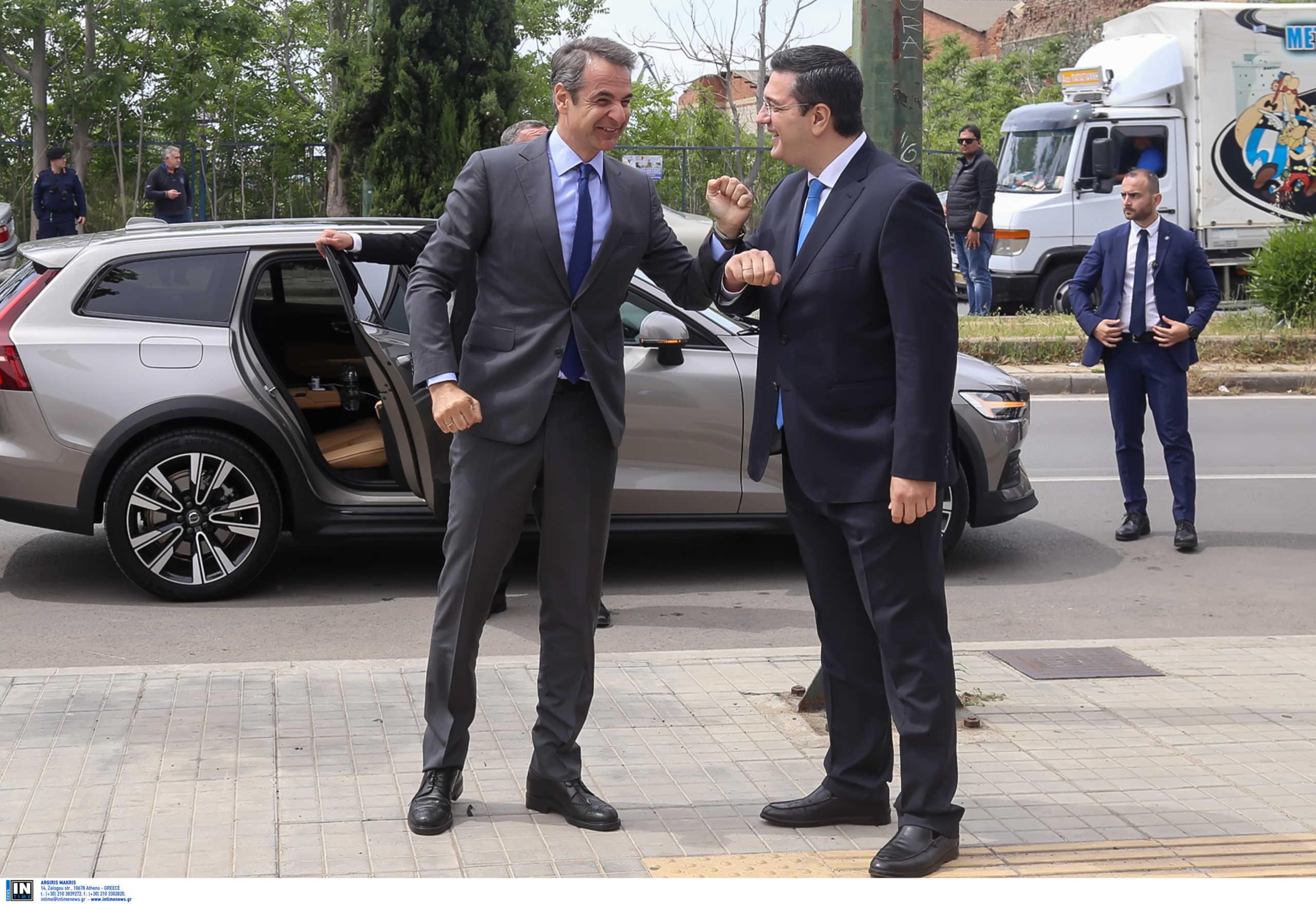 Θεσσαλονίκη, μέρος πρώτο: Οι επαφές Μητσοτάκη και η πρόγευση των εξαγγελιών για την οικονομία
