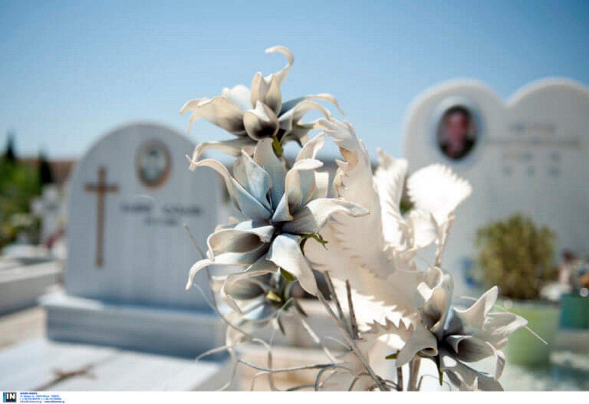 Ηράκλειο: Κατέρρευσε και πέθανε μέσα στο νεκροταφείο! Δάκρυα για την 75χρονη γυναίκα