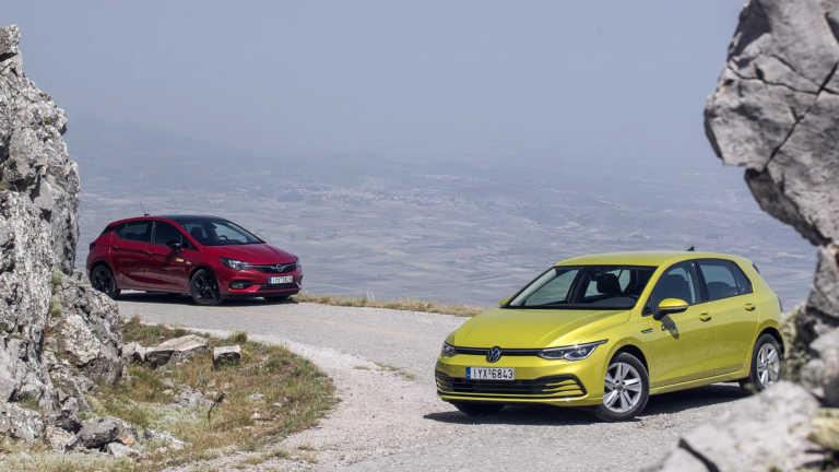 Ντέρμπι «αιωνίων»: Συγκρίνουμε το νέο VW Golf απέναντι στο Opel Astra! [pics]