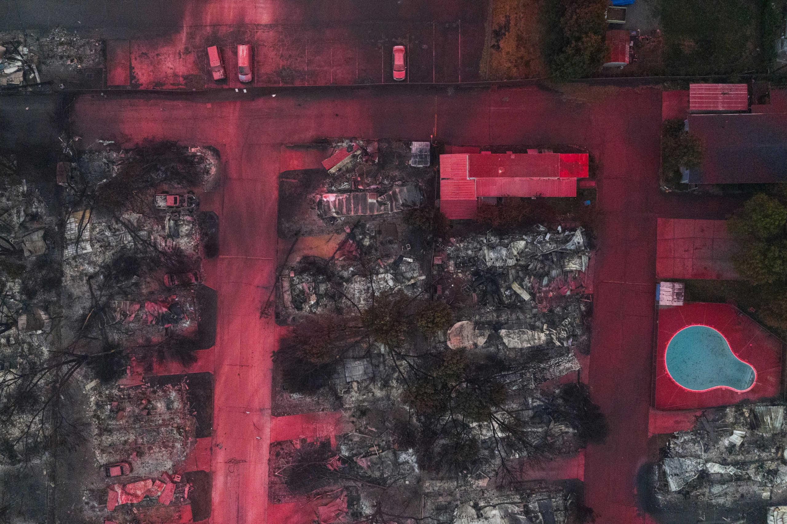Όρεγκον: Εικόνες αποκάλυψης! Μόνο 25 κτίρια σώθηκαν από τις φλόγες (pics)