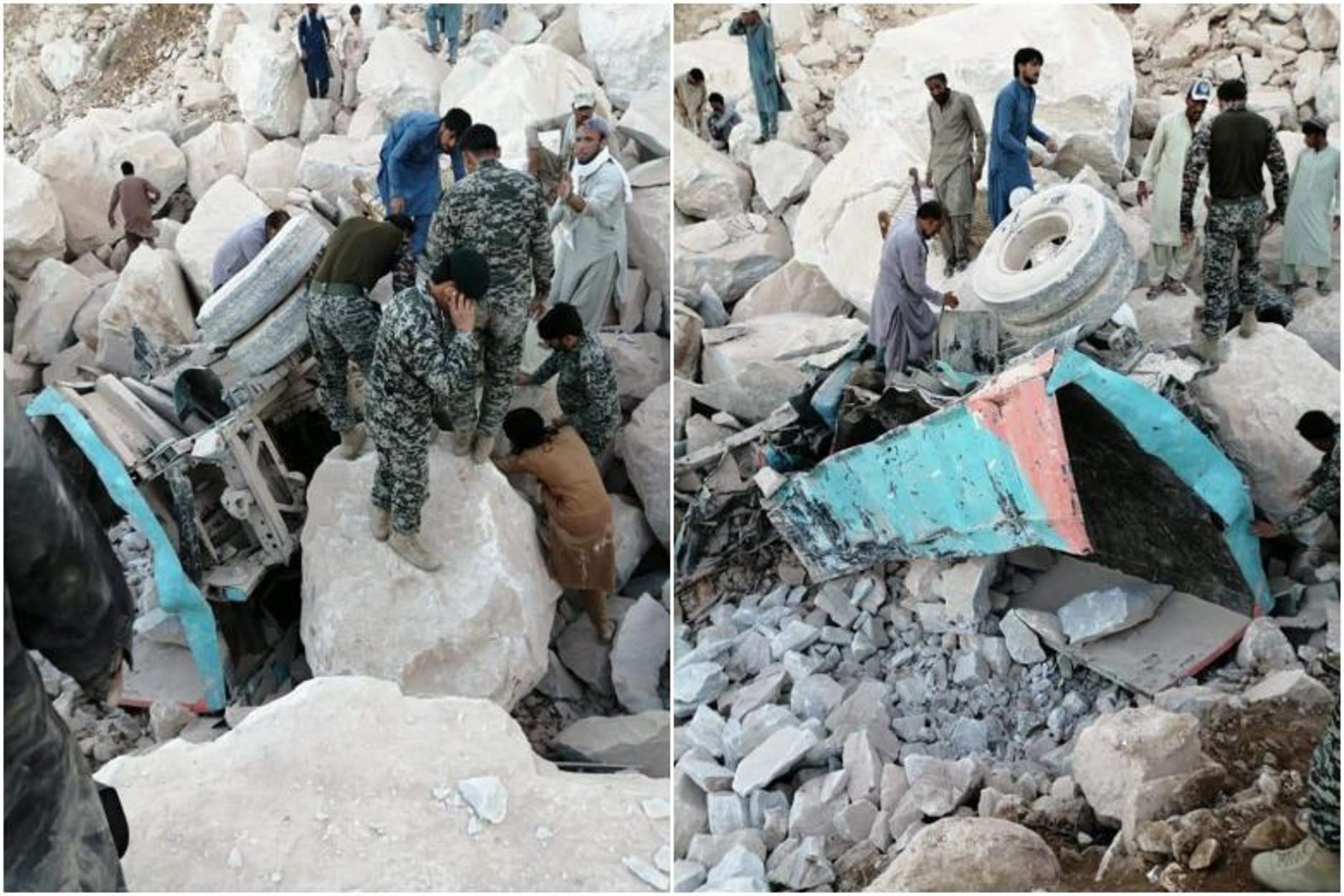 Πακιστάν: Τραγωδία! 17 νεκροί και 11 αγνοούμενοι από κατάρρευση λατομείου