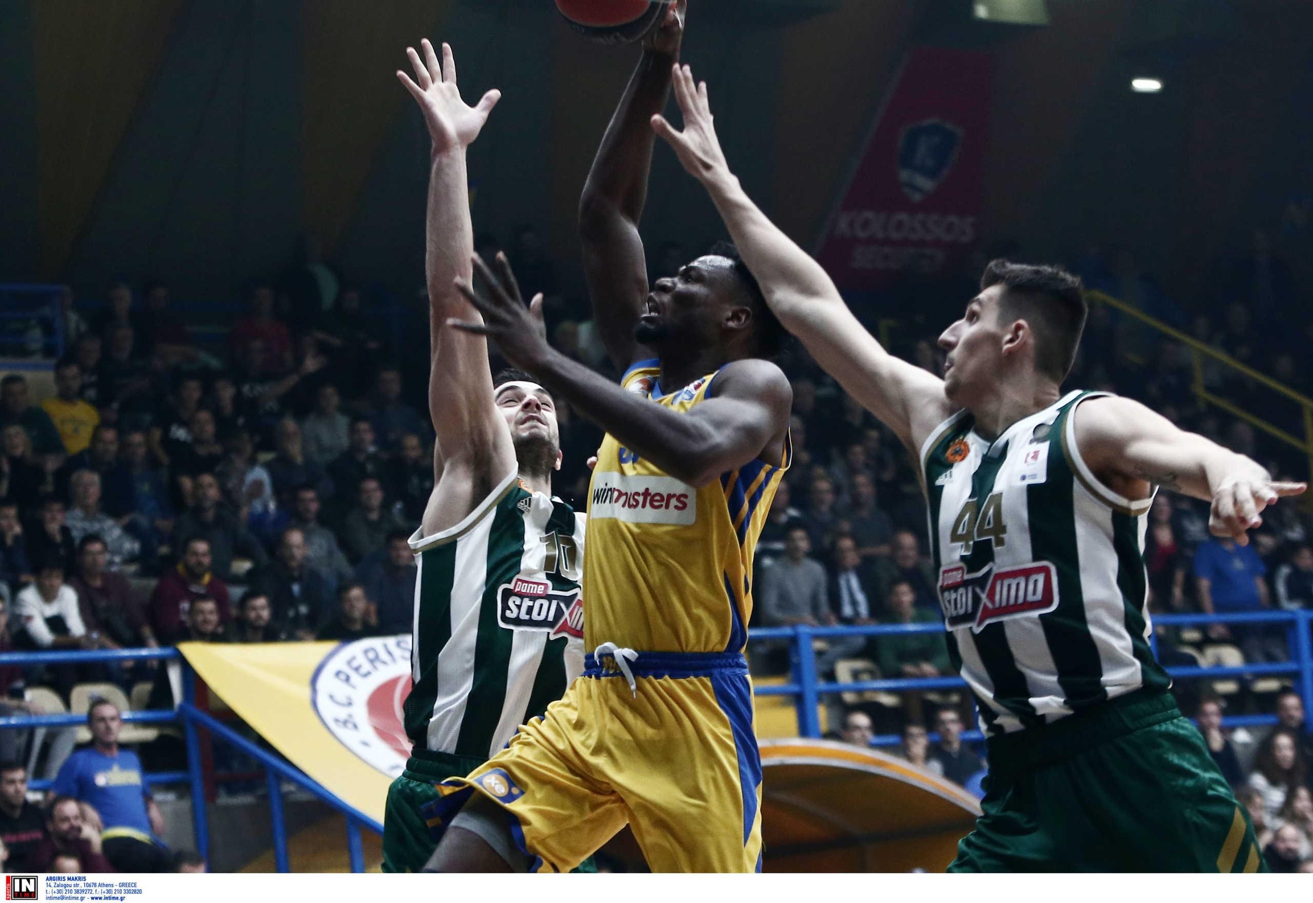 Basket League: Άλλαξε ημερομηνία το Περιστέρι – Παναθηναϊκός