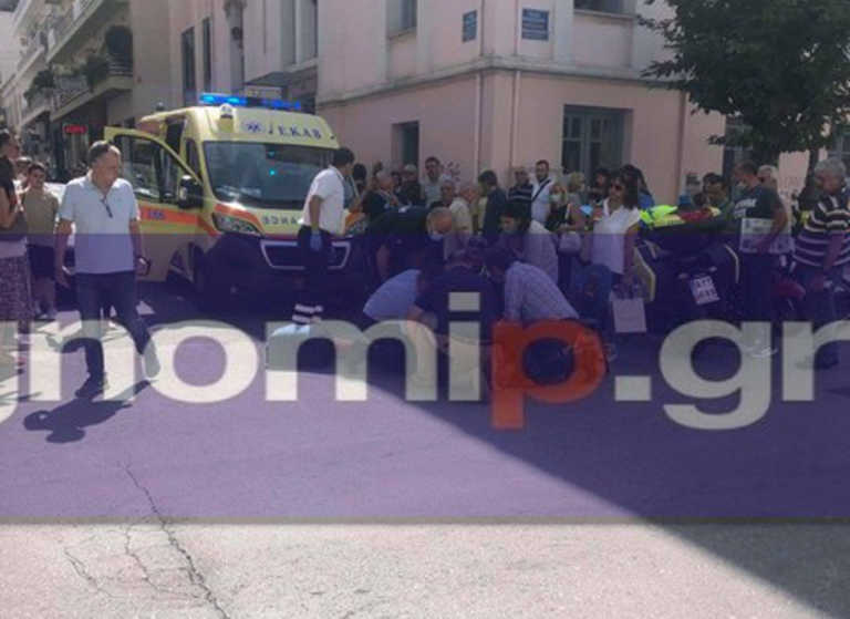 Πάτρα: Υπέστη καρδιακό επεισόδιο έξω από τον Δημαρχείο! Τον έσωσε ο Πελετίδης (pics)