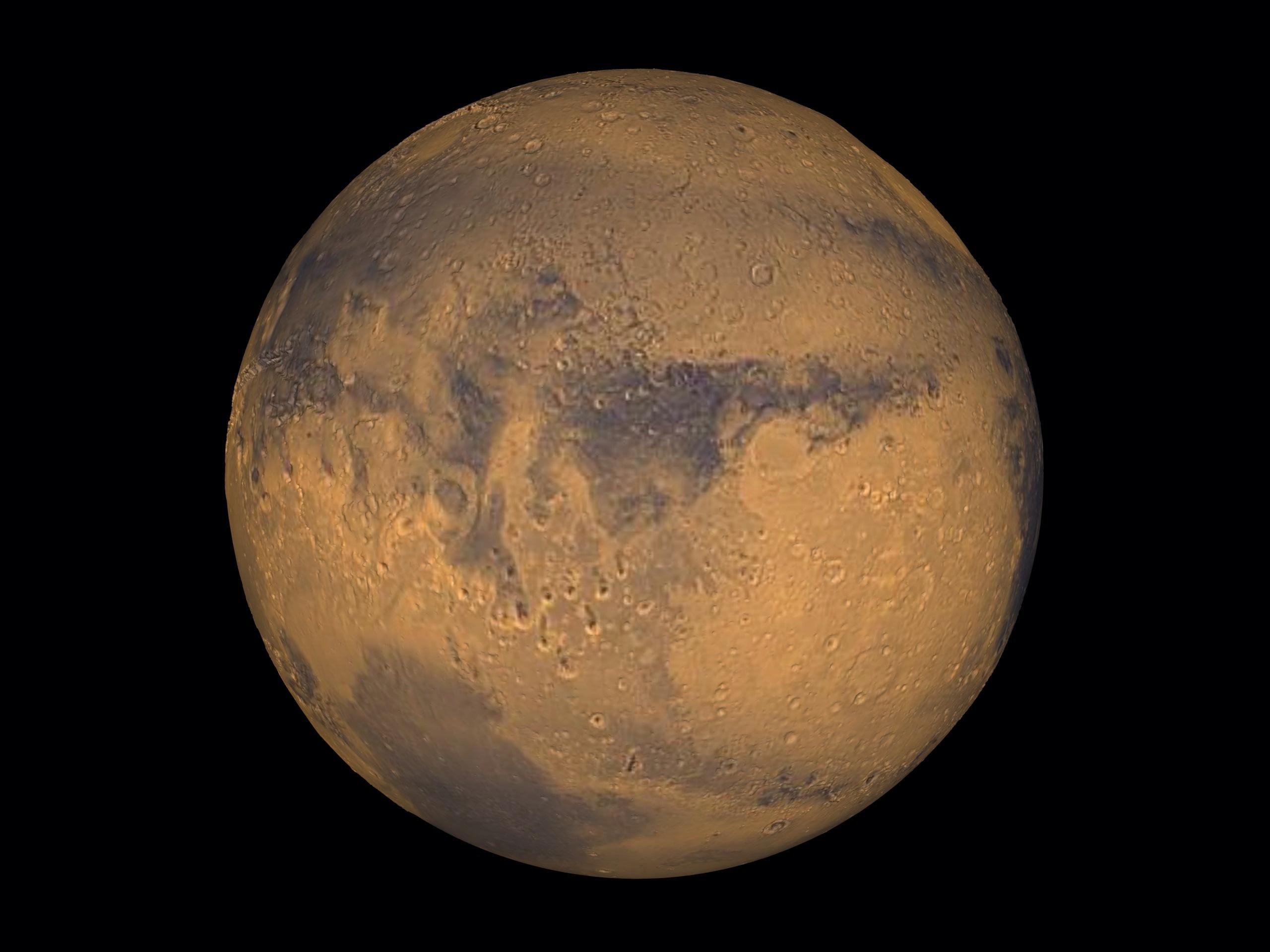 Ο Άρης κρύβει 4  λίμνες με αλμυρό νερό και ίχνη ζωής στα «σωθικά» του;