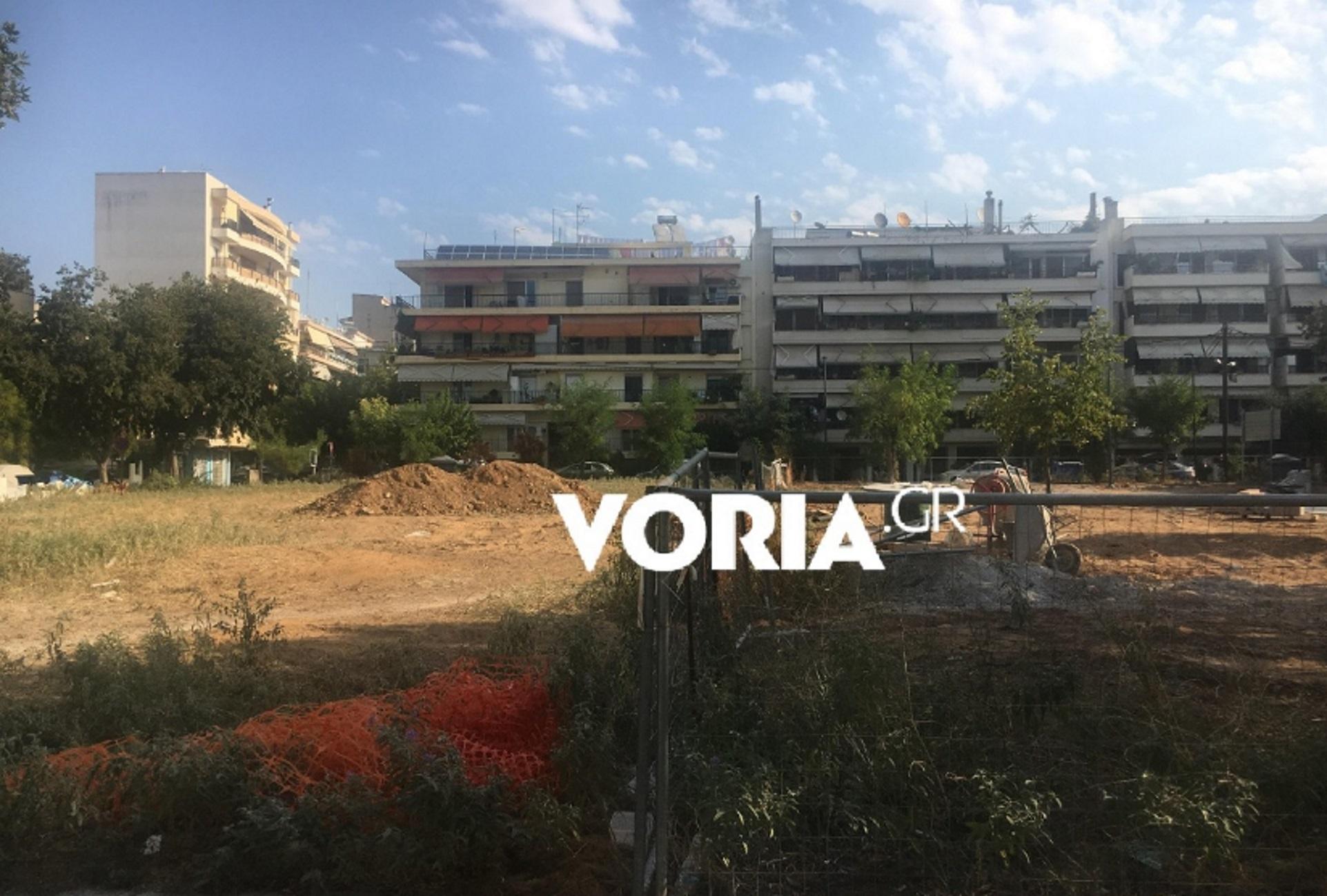 Θεσσαλονίκη: Ο απίστευτος λόγος που γίνεται ανάπλαση στη μισή πλατεία! Απίθανα πράγματα στην Πυλαία (Φωτό)