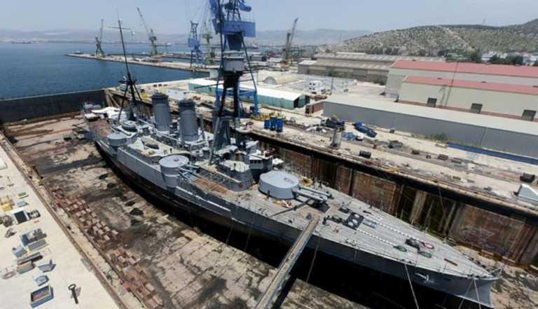 Αμερικανό-γερμανικός ανταγωνισμός μέσω ναυπηγείων για τους εξοπλισμούς του Πολεμικού Ναυτικού