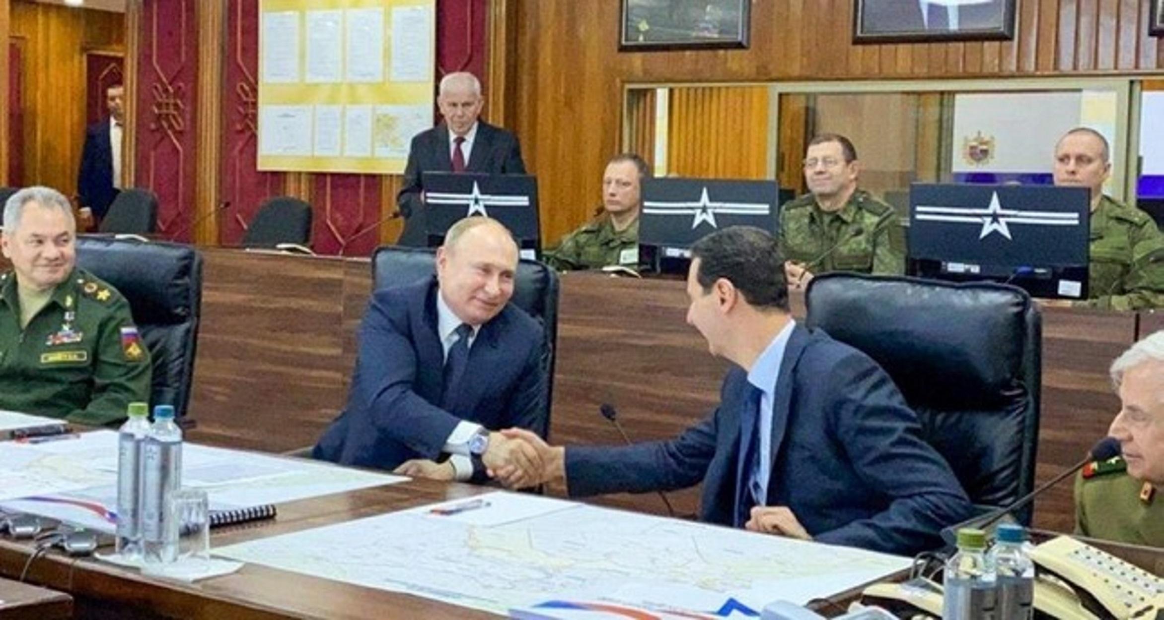 Συνάντηση Πούτιν με Άσαντ στο Κρεμλίνο – Τι συζήτησαν για την Συρία