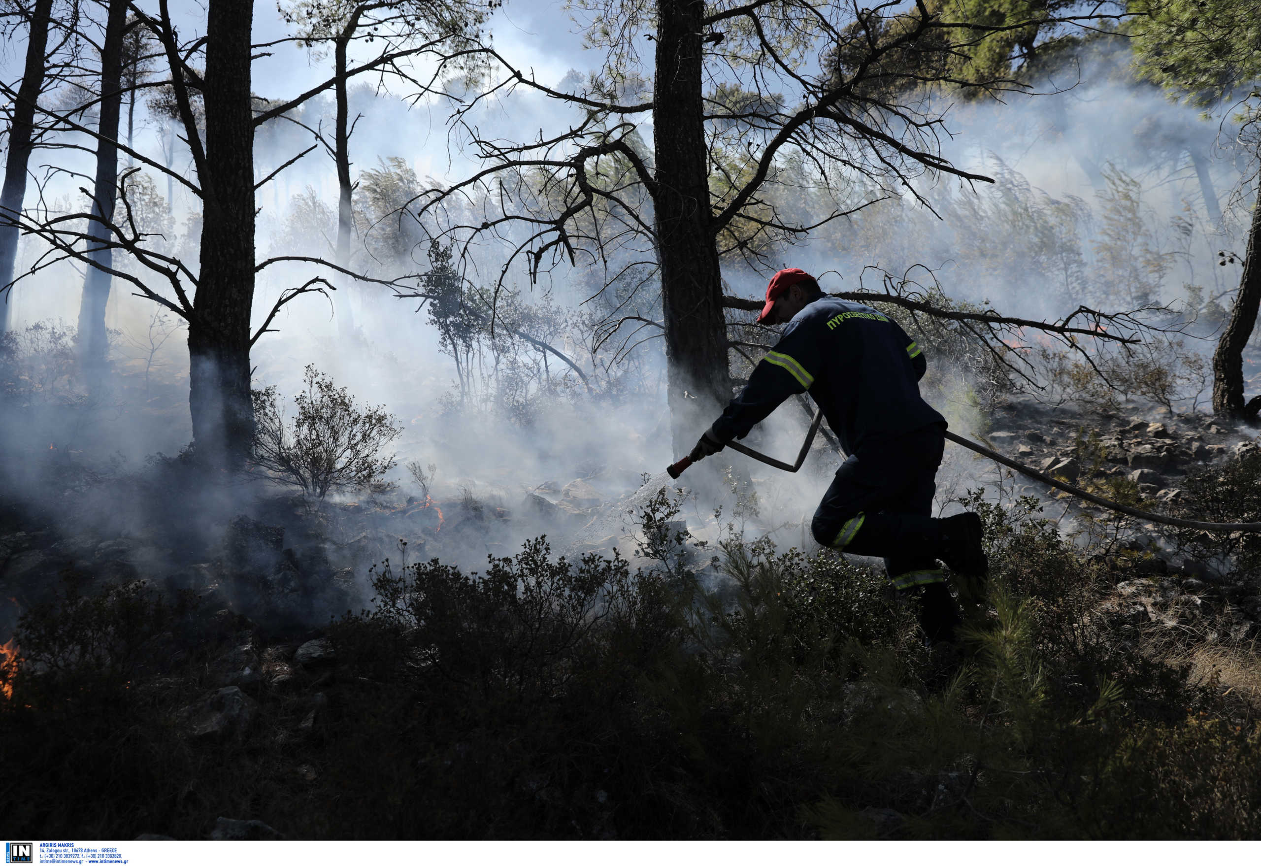 Πολύ υψηλός κίνδυνος πυρκαγιάς αύριο – Συναγερμός και στην Αττική