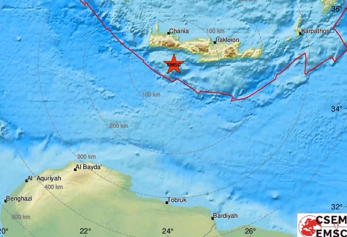Σεισμός (αληθινός) πριν τα ανδρικά καλλιστεία παρεό στην Γαύδο