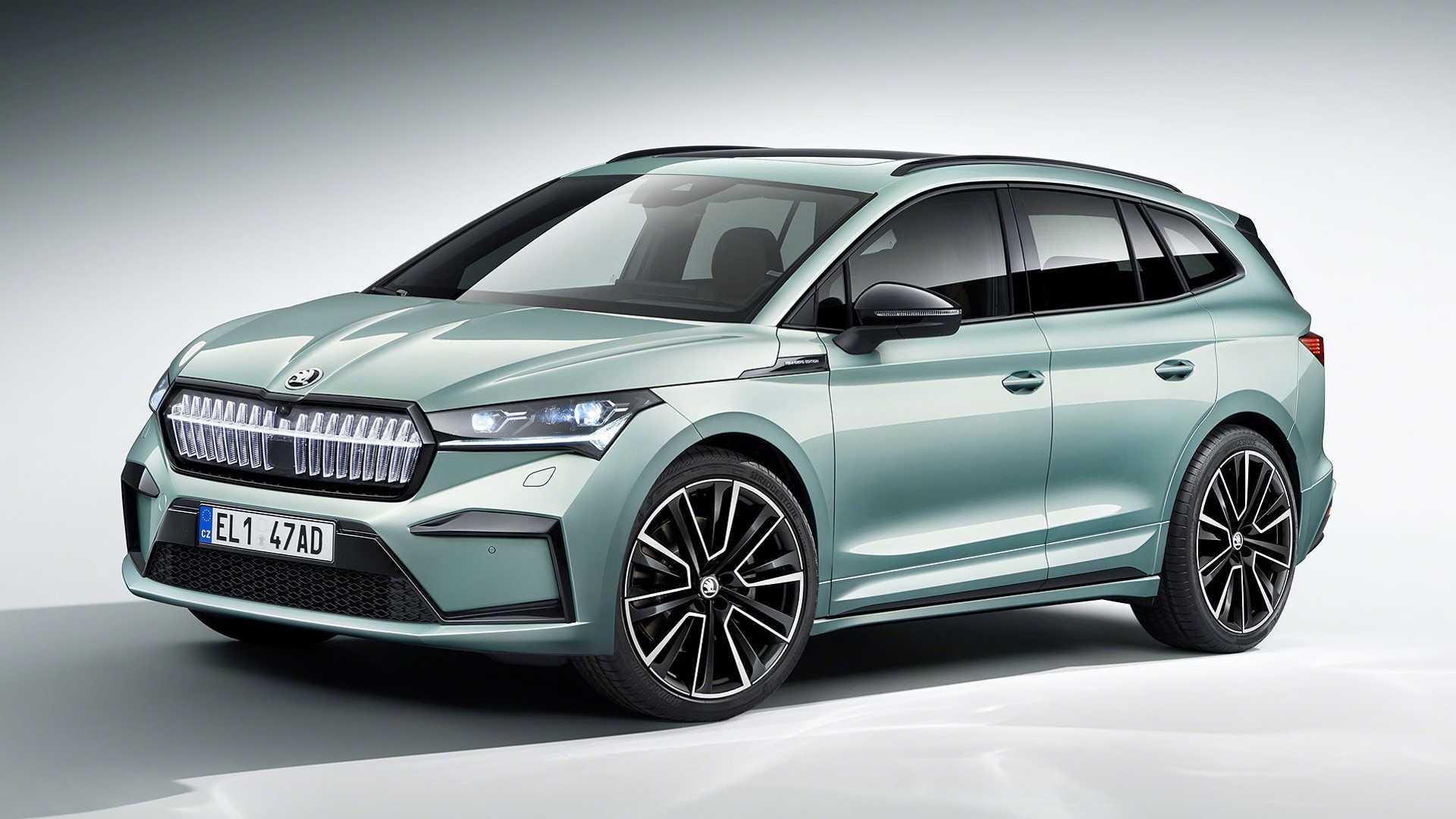 Enyaq iV: Αυτό είναι το πρώτο ηλεκτρικό SUV της Škoda [vid]