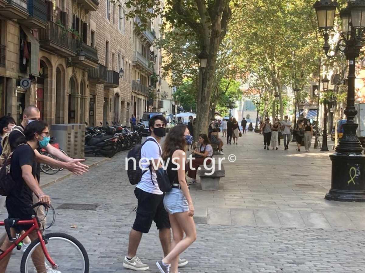 Ισπανία Μαδρίτη lockdown Αττική