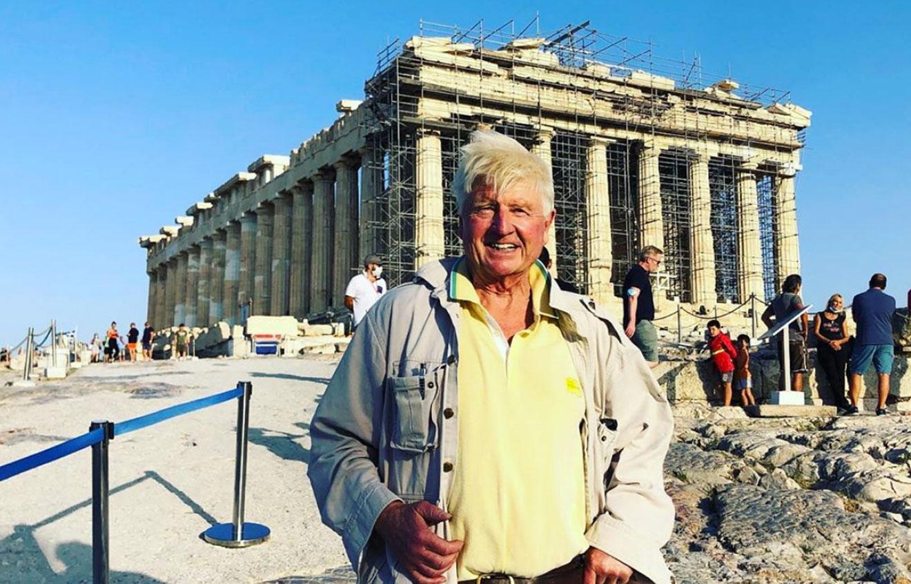 Τι είδε ο τουρίστας στην Ακρόπολη; Τον μπαμπά του Μπόρις Τζόνσον…
